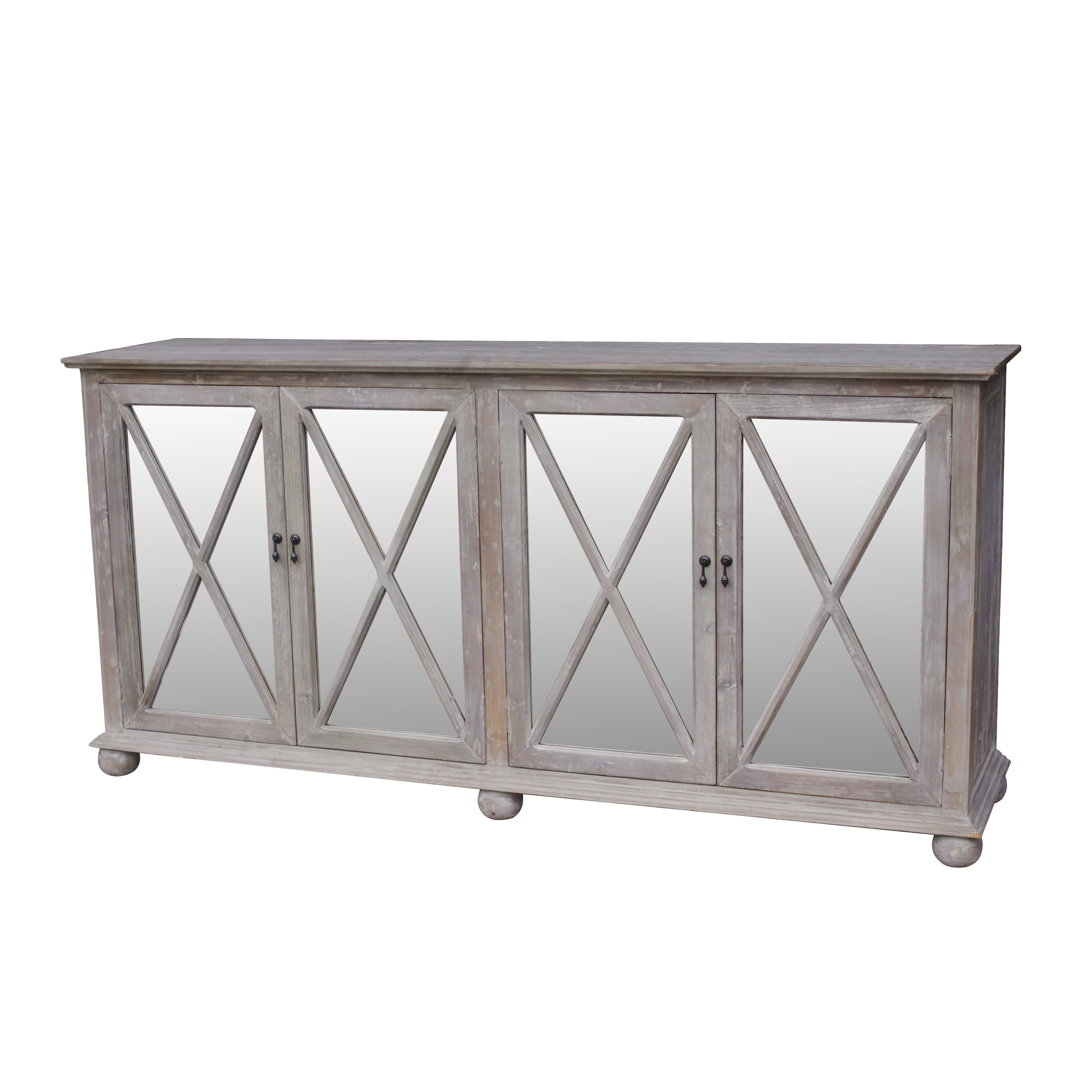 One Allium Way Cheverny Sideboard | Wayfair For Most Recently Released Diamond Circle Sideboards (#14 of 20)