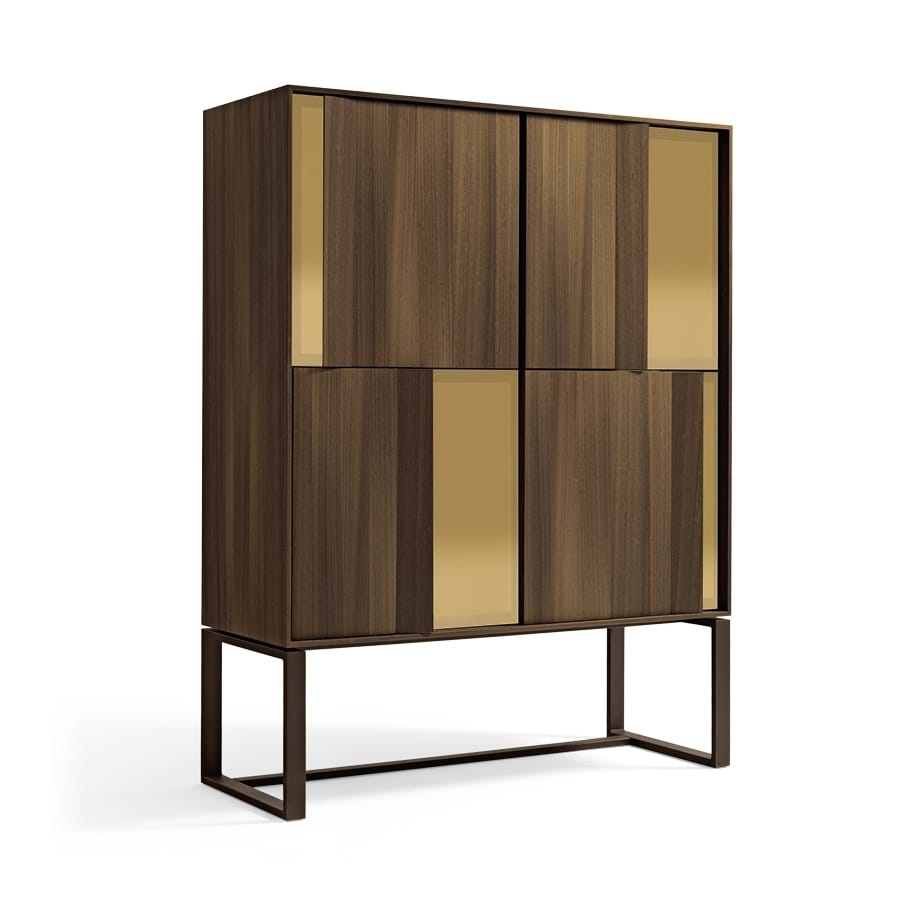 Origami – Sideboards And Chests Of Drawers – Giorgetti With Current 4 Door Wood Squares Sideboards (#15 of 20)