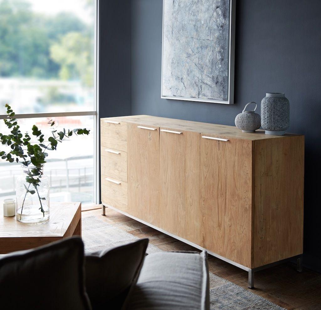 Originals Furniture – L'atelier Havelock 3 Doors, 3 Drawers Teak Intended For 2018 White Wash 3 Door 3 Drawer Sideboards (View 14 of 20)