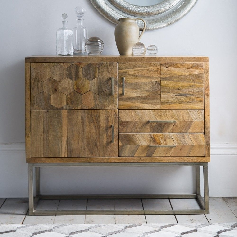 Oscar Sideboard | Wish List | Pinterest | Dining, Living Rooms And Room Throughout Newest Brown Chevron 4 Door Sideboards (#12 of 20)