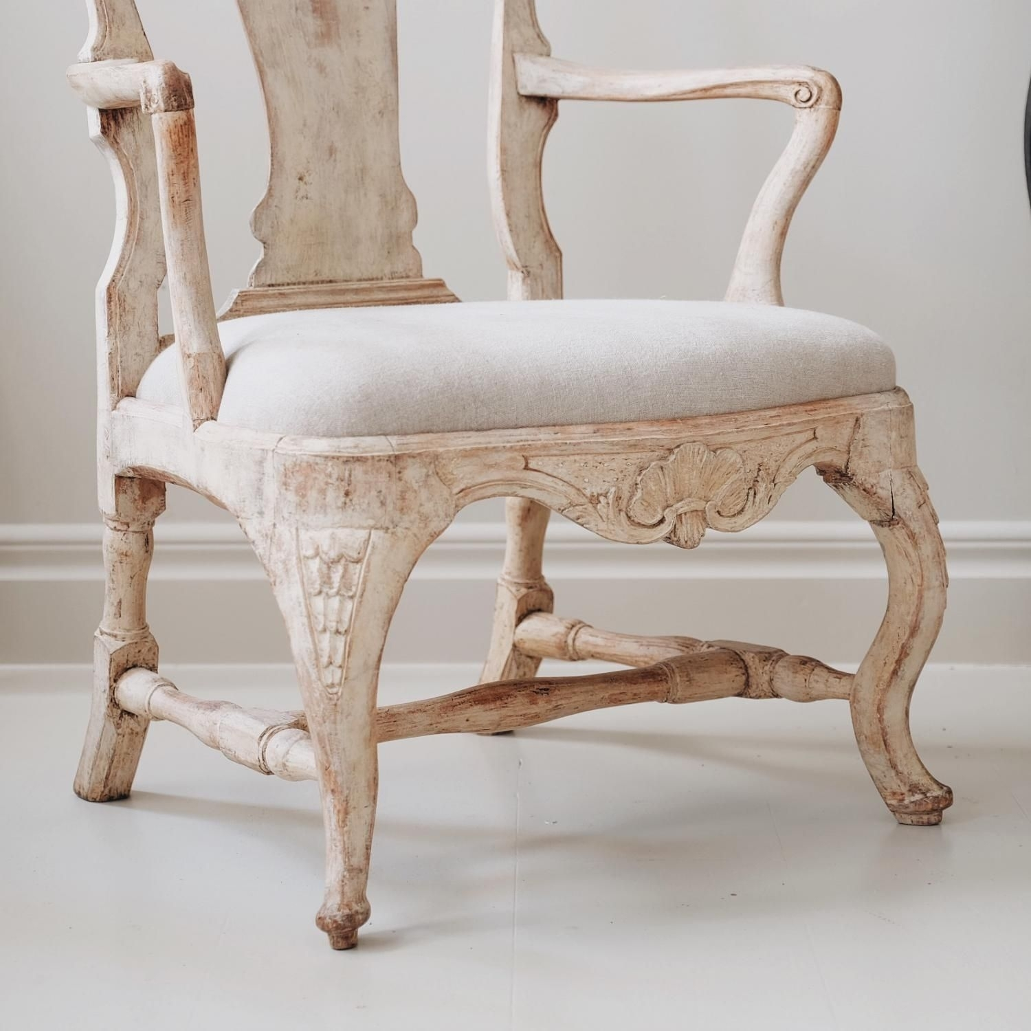 Inspiration about Pair Of 18Th Century Swedish Rococo Armchairs In (#10 of 20)