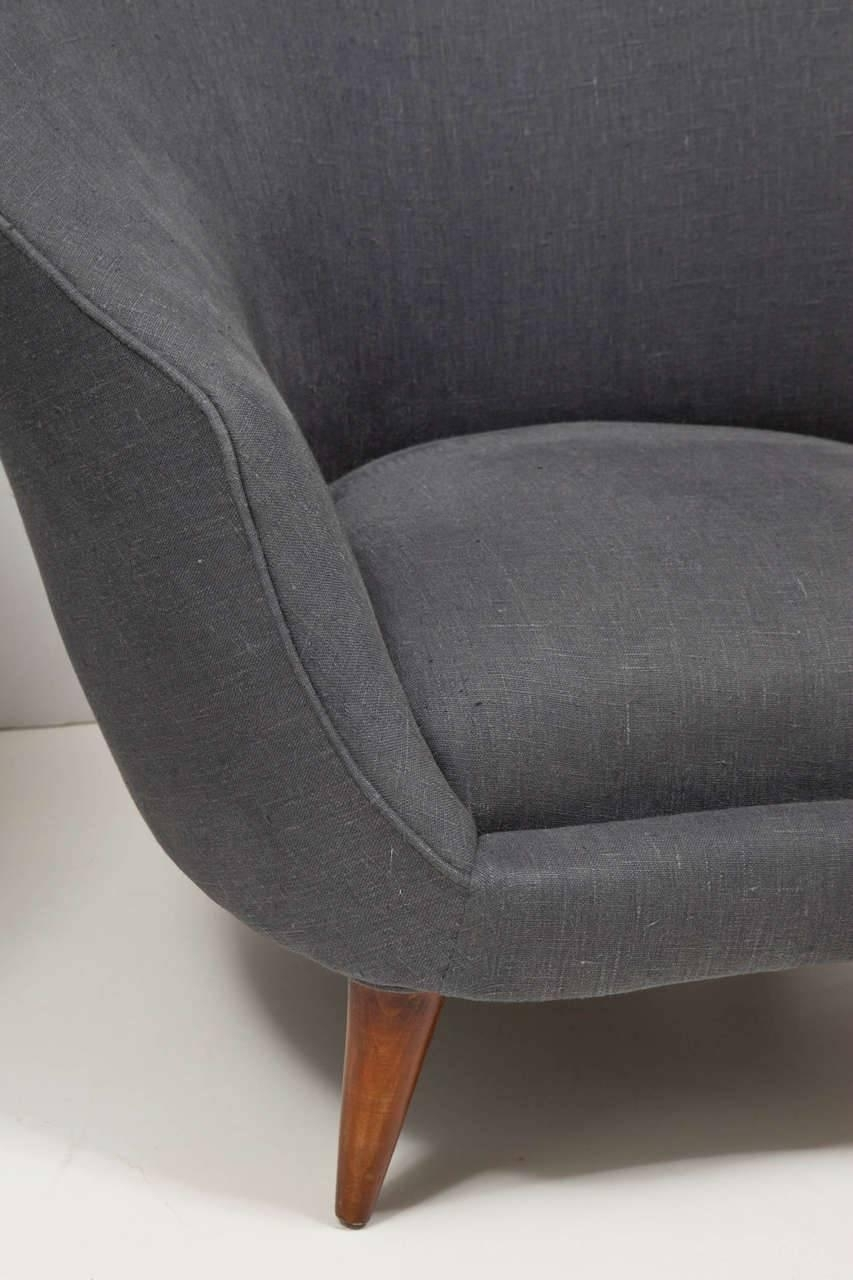 Pair Of Upholstered Armchairsfederico Munari – Caira Mandaglio Inside Well Known Caira Upholstered Arm Chairs (#9 of 20)