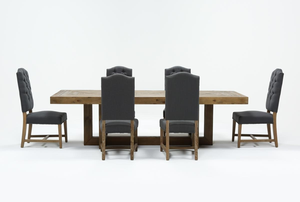 Inspiration about Palazzo 7 Piece Rectangle Dining Set With Joss Side Chairs | Living Within Most Up To Date Palazzo 87 Inch Sideboards (#15 of 20)