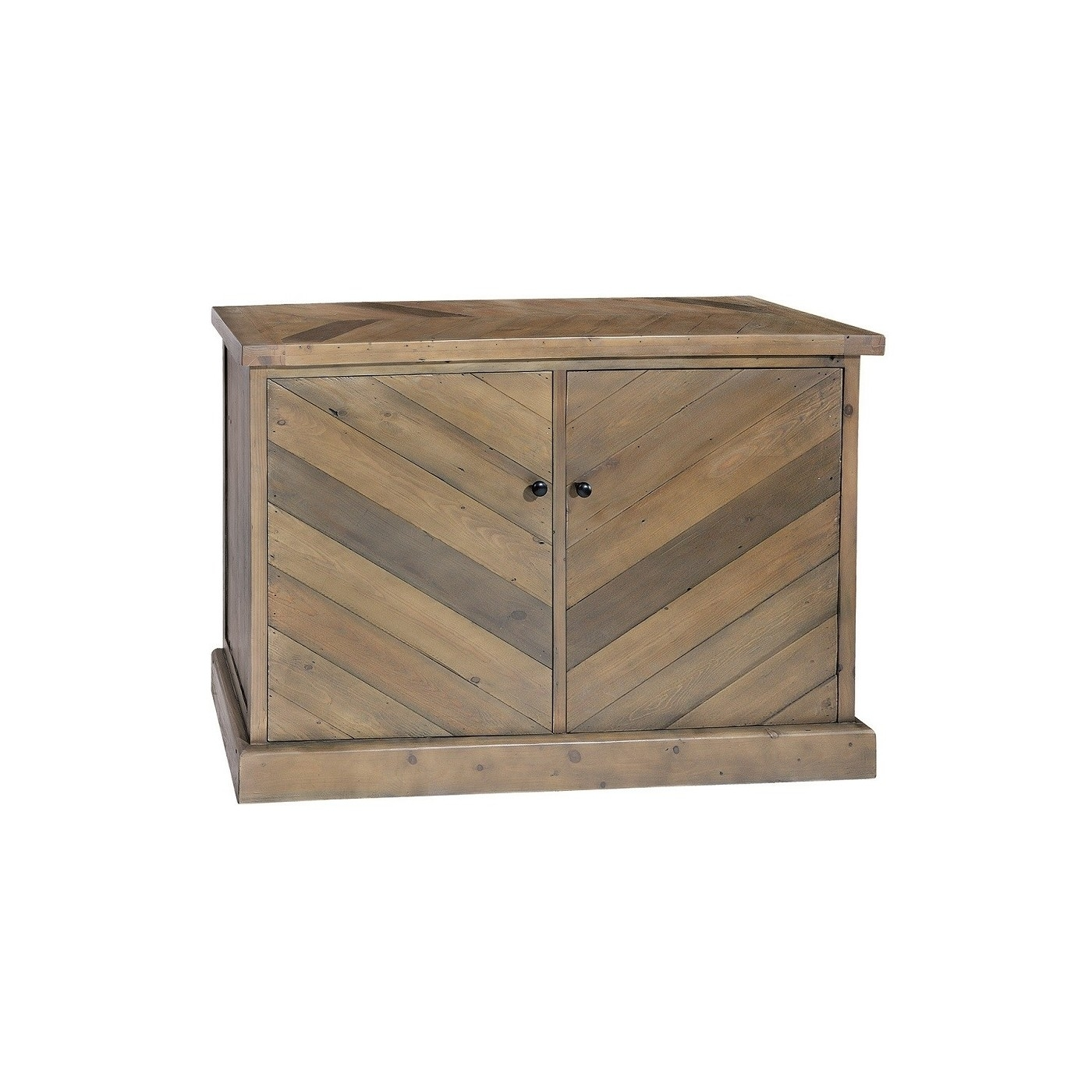 Parquet Reclaimed Pine Small Sideboard | Bedford In Most Current Parquet Sideboards (#14 of 20)