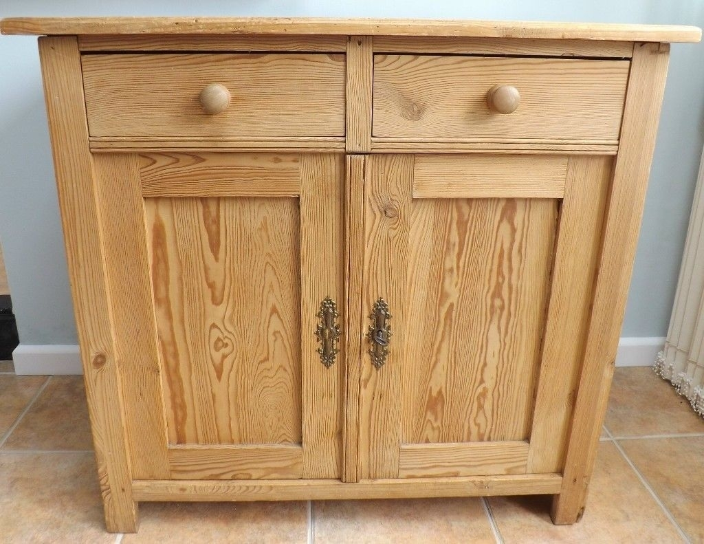 Inspiration about Pine Cupboard/sideboard | In Fareham, Hampshire | Gumtree Pertaining To Newest Natural South Pine Sideboards (#13 of 20)
