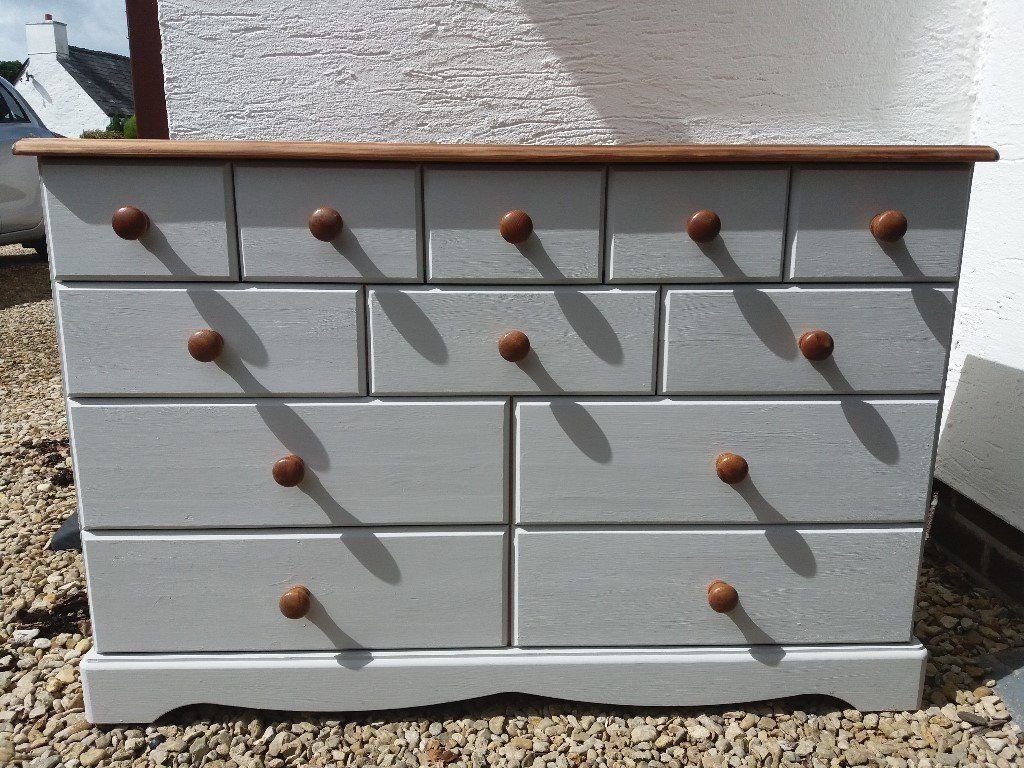 Inspiration about Pine Sideboard With Many Draws | In Cardiff | Gumtree Regarding Recent Natural South Pine Sideboards (#20 of 20)