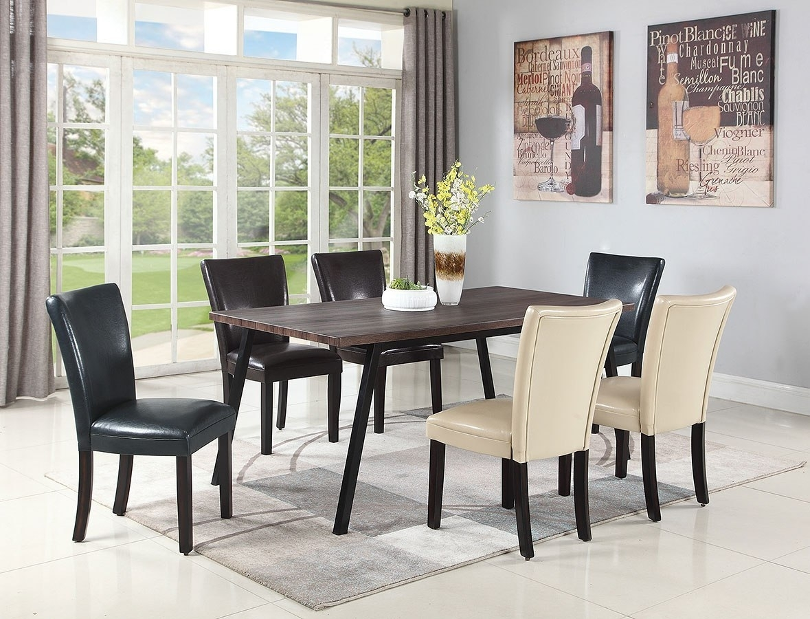 Pinot Side Chairs In Latest Jefferson Dining Room Set W/ Chair Choices – Dining Room And Kitchen (#12 of 20)