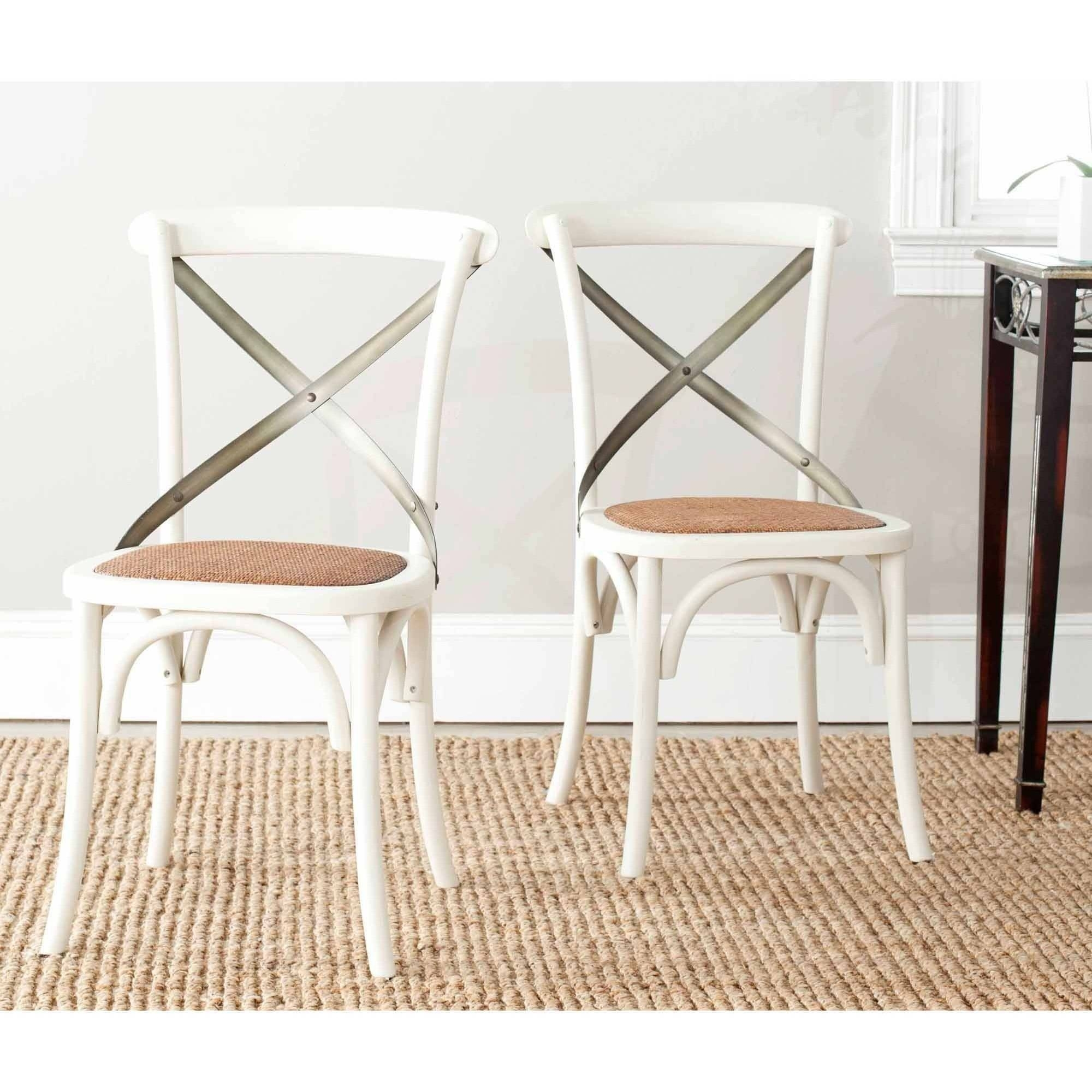 Inspiration about Pisa Bentwood Chair, Set Of 2, Multiple Colors – Walmart Throughout 2018 Mandy Paper White Side Chairs (#14 of 20)