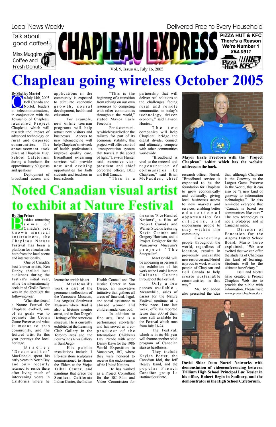 Popular 07162005 July 16 2005The Chapleau Express – Issuu For Chapleau Ii Arm Chairs (#19 of 20)