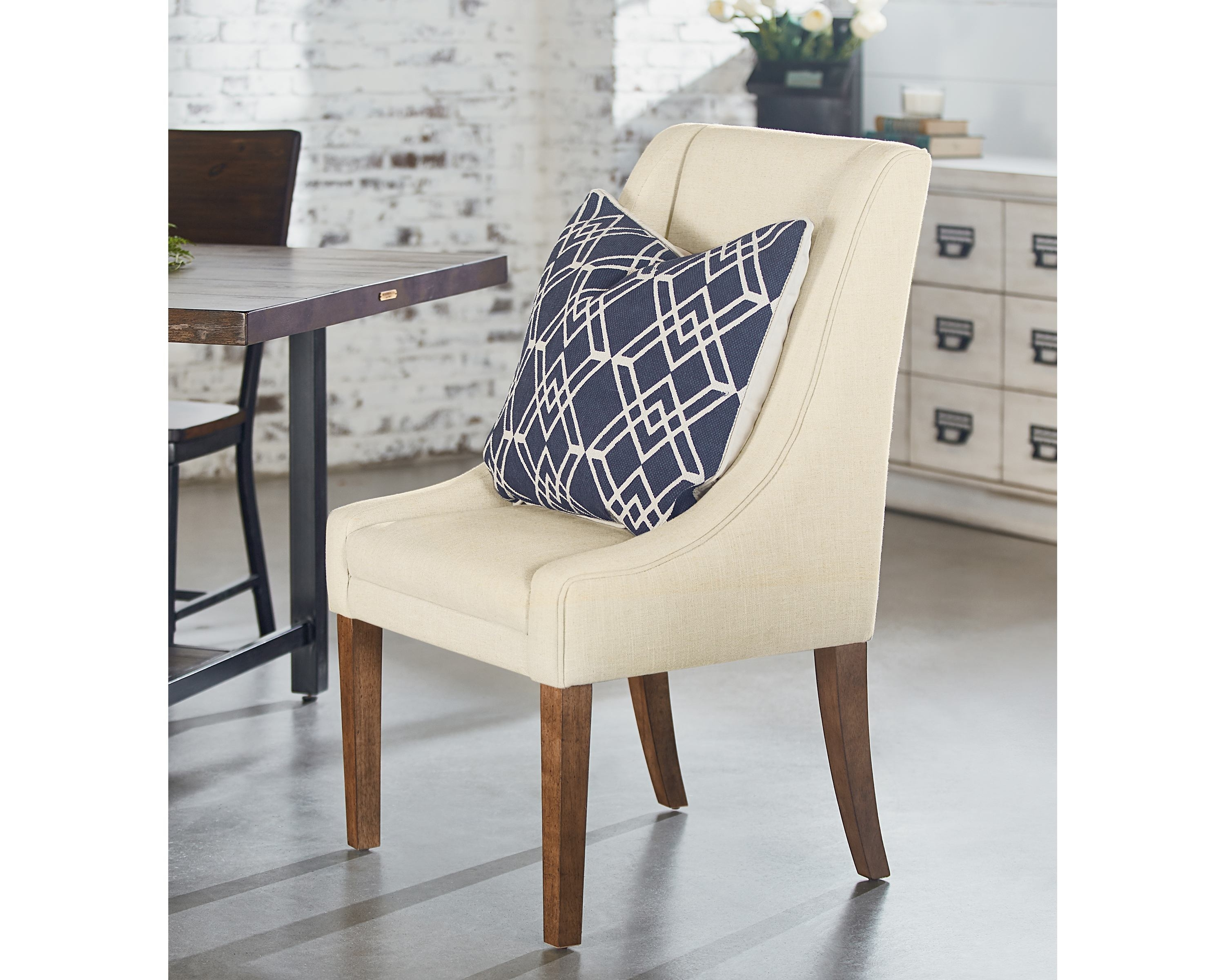 Inspiration about Popular Demi Wing Side Chair – Magnolia Home Throughout Magnolia Home Demi Flannel Wing Side Chairs (#10 of 20)