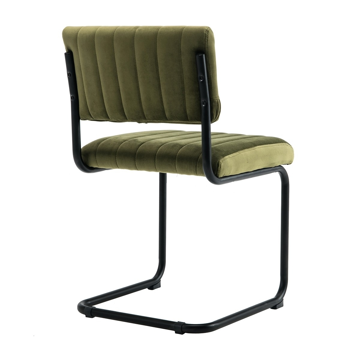 Popular Life Interiors – Blake Velvet Dining Chair (olive) – Modern For Dark Olive Velvet Iron Dining Chairs (View 8 of 20)