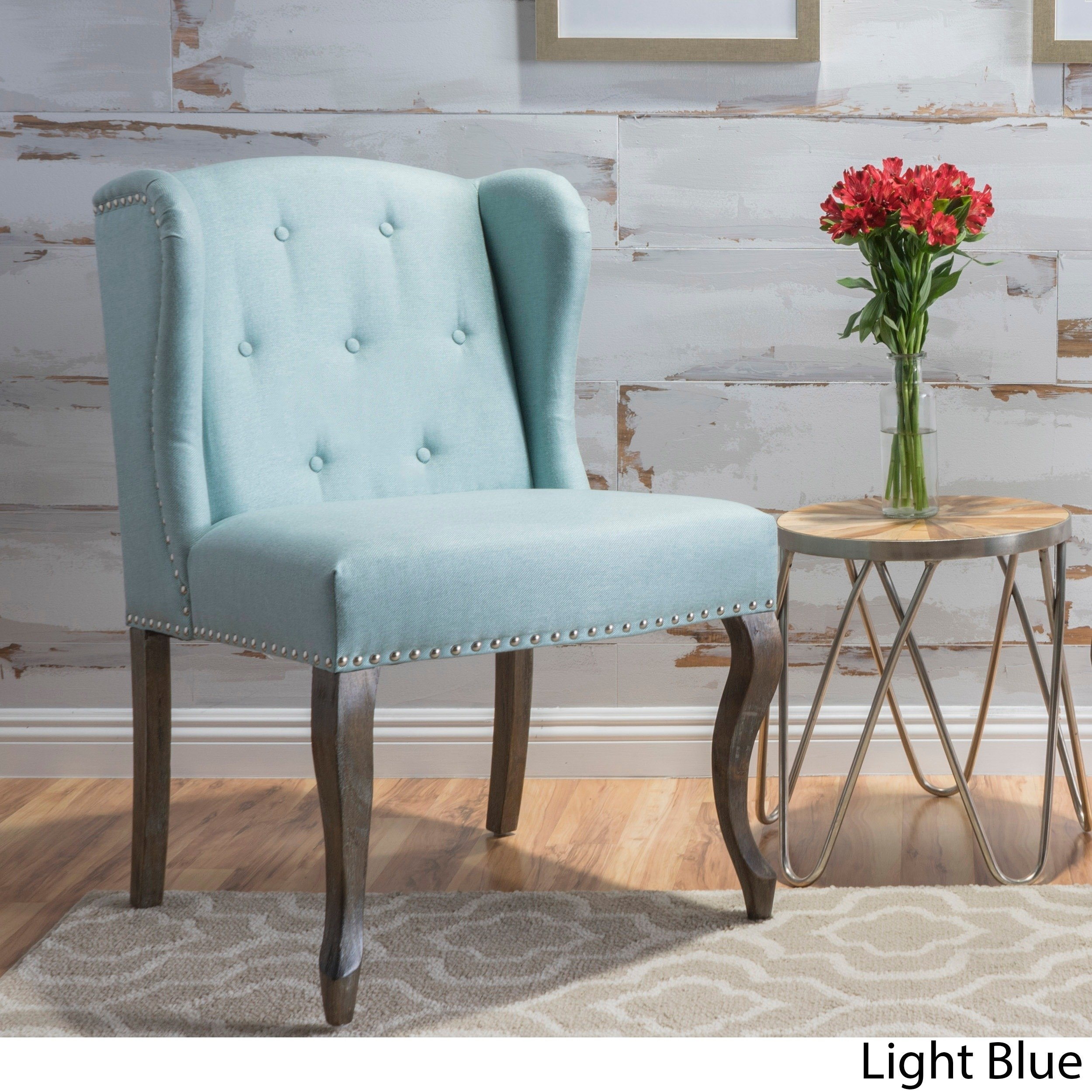 Inspiration about Popular Nautical Blue Side Chairs With Regard To Buy Living Room Chairs Online At Overstock (#3 of 20)
