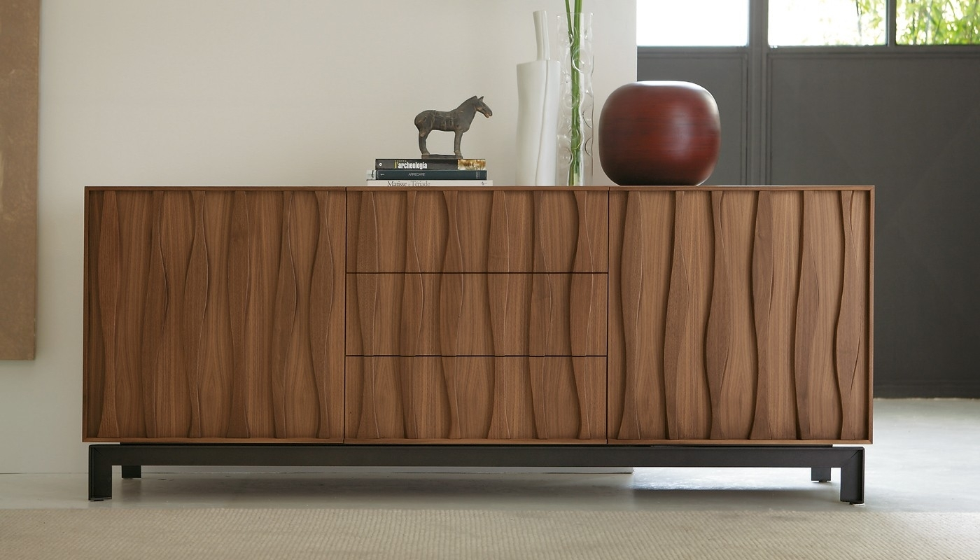 Inspiration about Porada Masai Sideboard Walnut | Heal's Pertaining To Best And Newest Walnut Small Sideboards (#13 of 20)