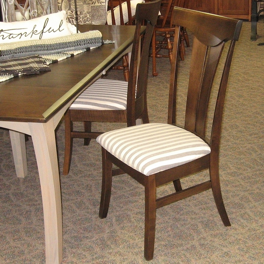 "Preferred 48"" X 72"" Chandler Dining Table With 4 12"" Leaves, Set Includes 4 With Chandler Wood Side Chairs (#17 of 20)"