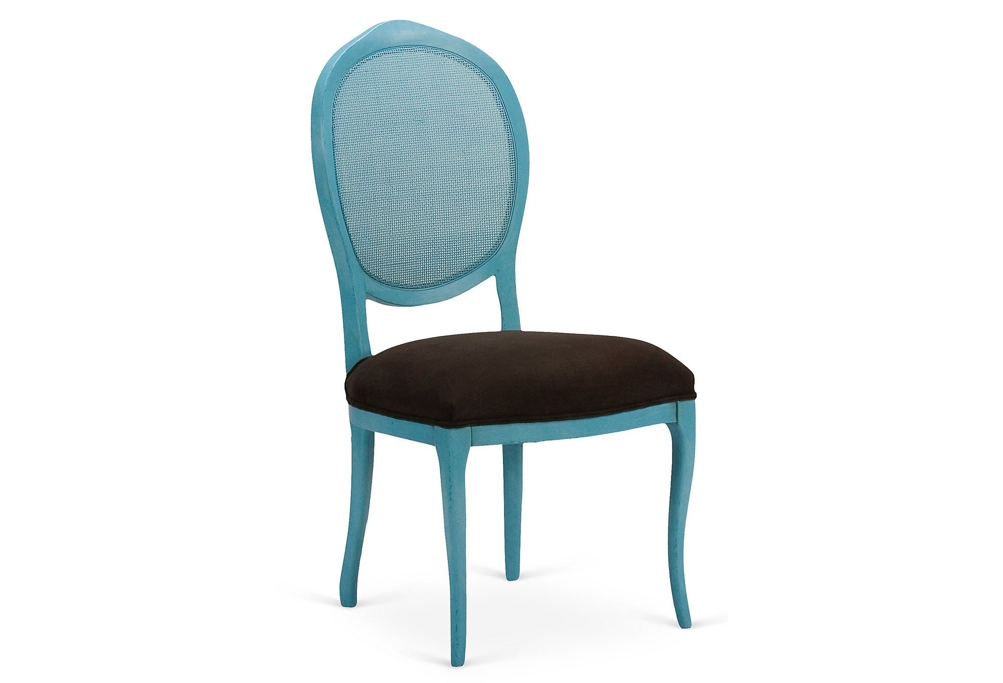 Preferred Andrea Side Chair, Blue/clay (#18 of 20)