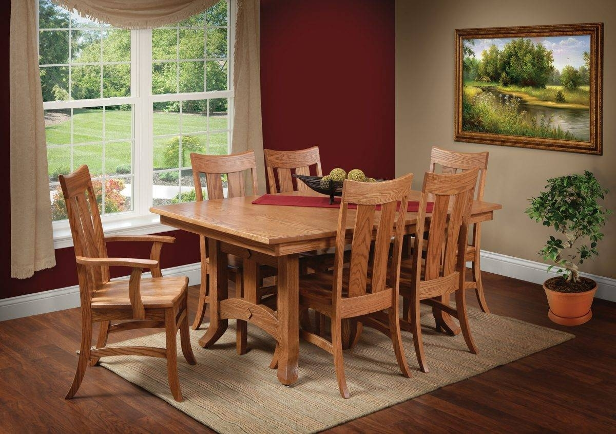Preferred Biltmore 7 Piece Room Scene – Home Acres Fine Furniture • Hand Throughout Biltmore Side Chairs (#16 of 20)
