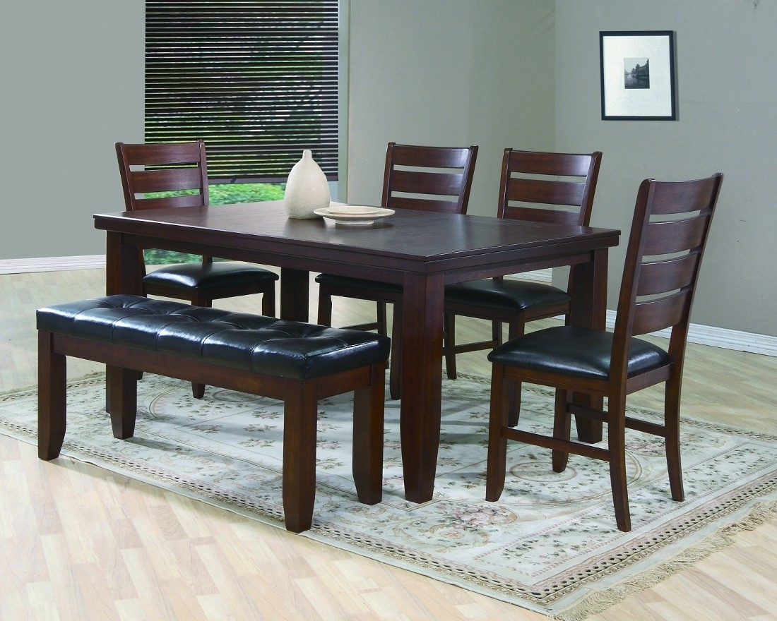 Inspiration about Preferred Crown Mark Bardstown Dining Table Set (#5 of 20)