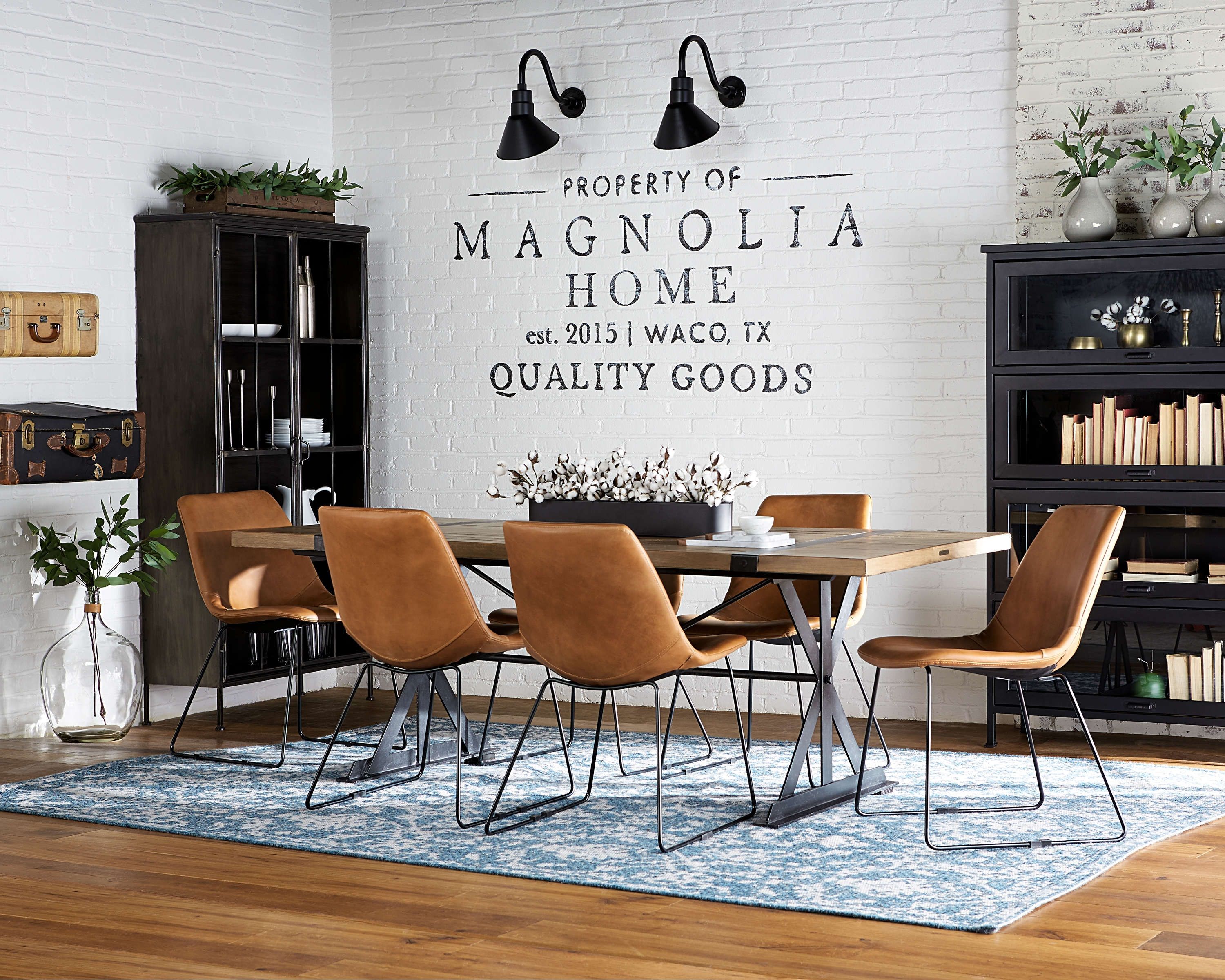 Inspiration about Preferred Magnolia Home Molded Shell Saddle Side Chairs Pertaining To Molded Shell Chair – Magnolia Home (#1 of 20)