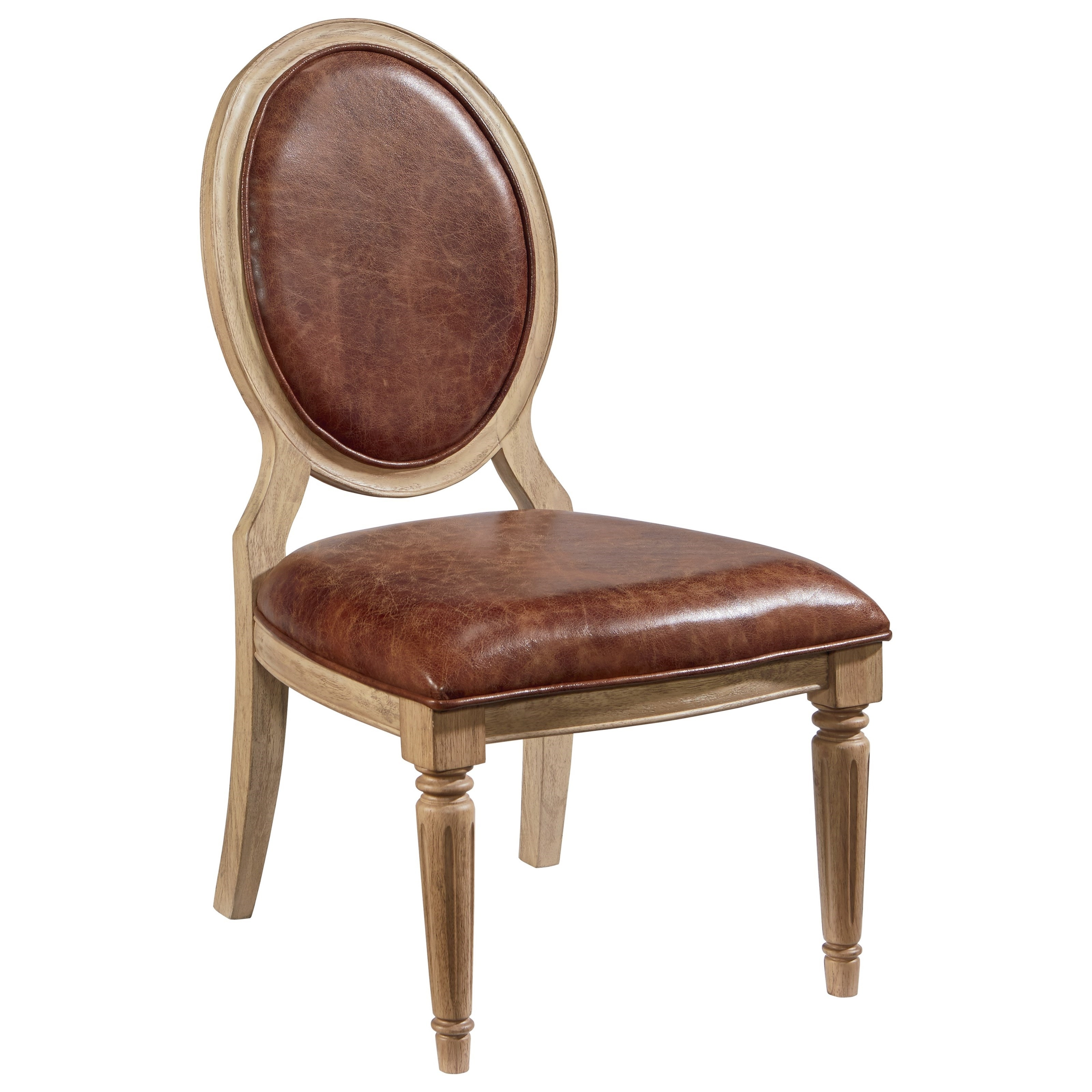Inspiration about Preferred Magnolia Homejoanna Gaines French Inspired 3010507y Oval Back Intended For Magnolia Home Spindle Back Side Chairs (#18 of 20)