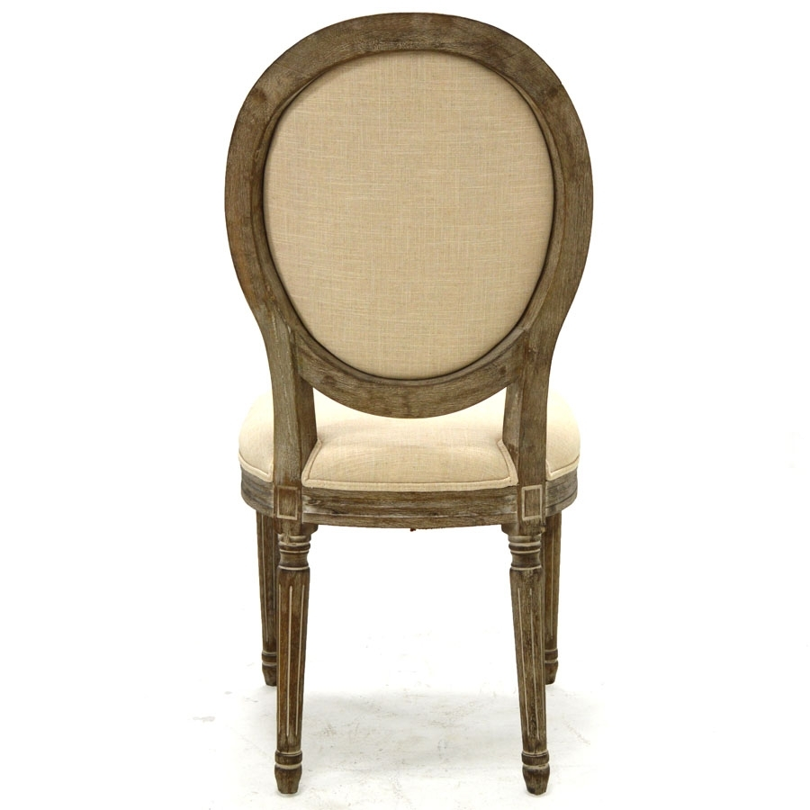 Preferred Perla Dining Side Chair, Natural Flax – Home Source Furniture Inside Perla Side Chairs (#13 of 20)