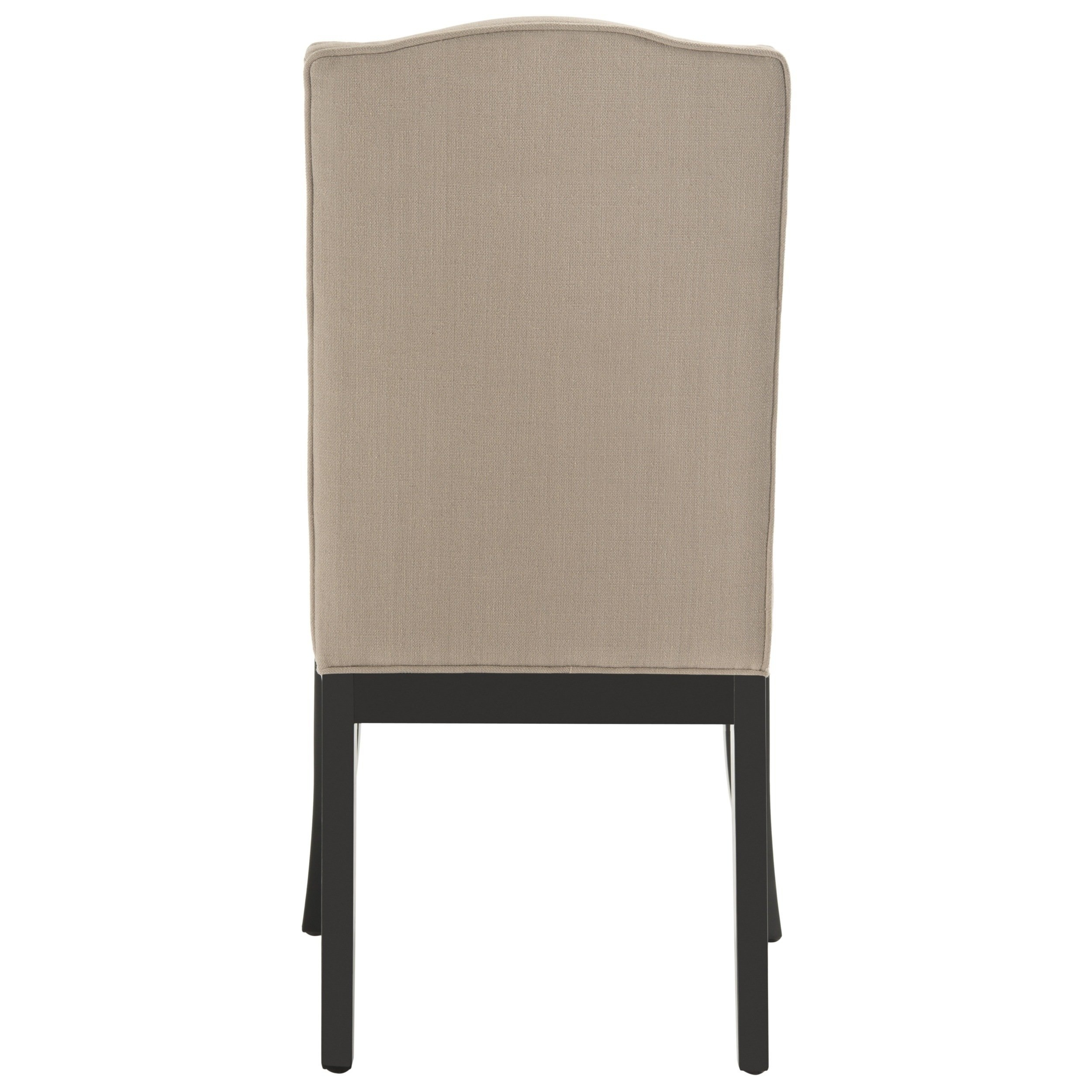 Preferred Safavieh En Vogue Dining Laurent Taupe Nailhead Dining Chairs (Set With Laurent Wood Side Chairs (View 18 of 20)