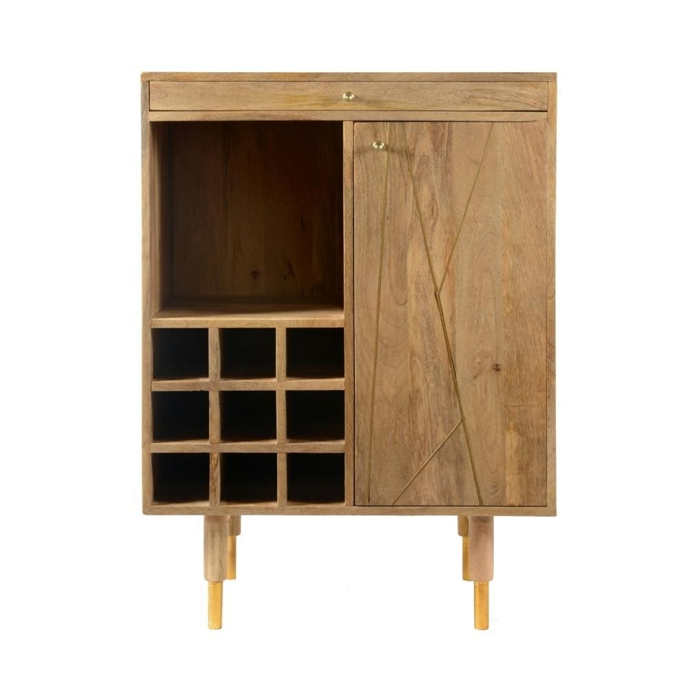 Inspiration about Product Category: Accent Cabinets | Jack's Warehouse With Most Up To Date Leven Wine Sideboards (#13 of 20)