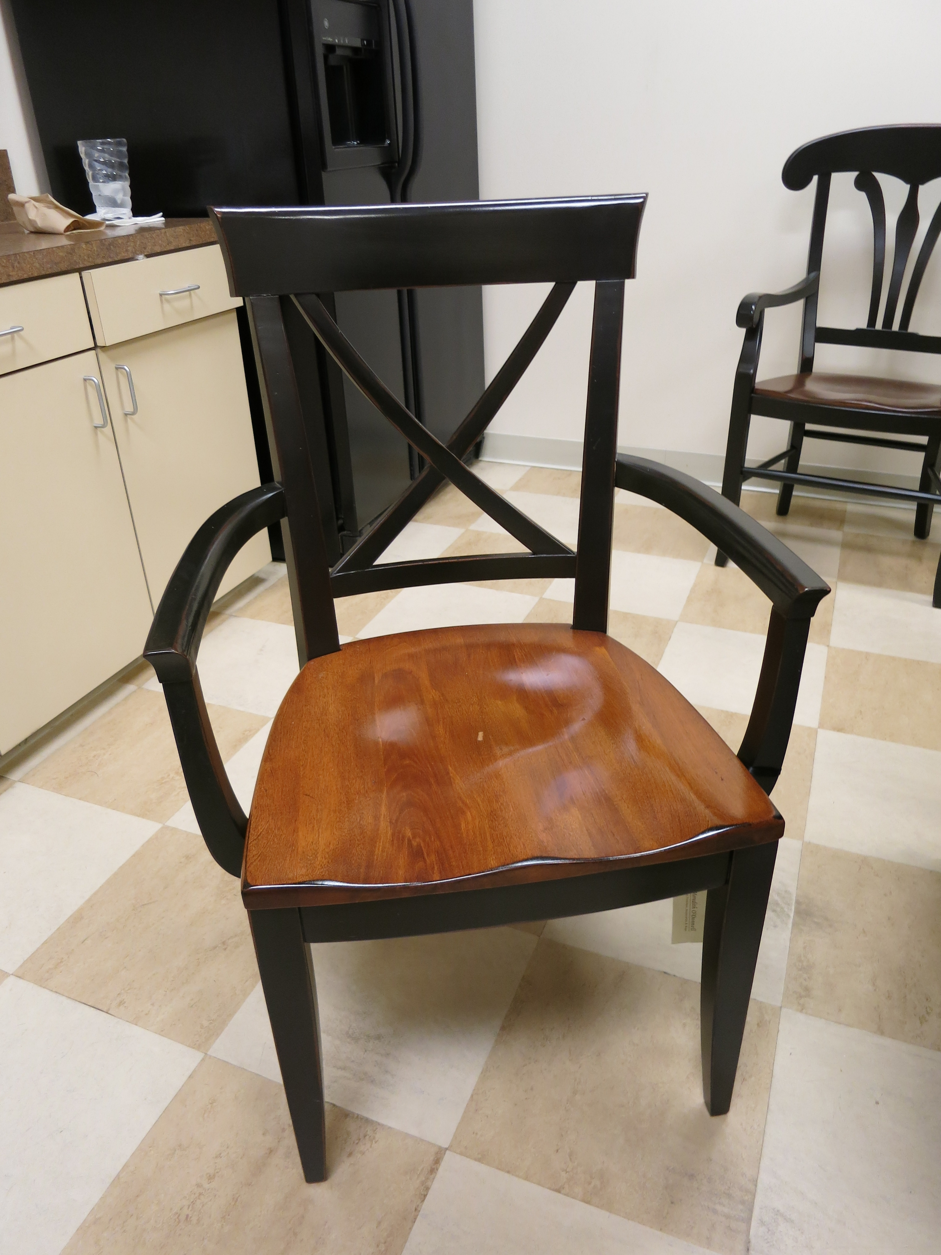 Inspiration about Product List Throughout Well Known Candice Ii Slat Back Host Chairs (#6 of 20)