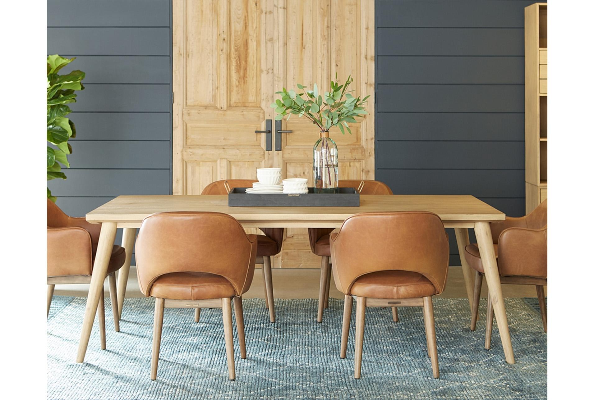 Popular Photo of Magnolia Home Hamilton Saddle Side Chairs