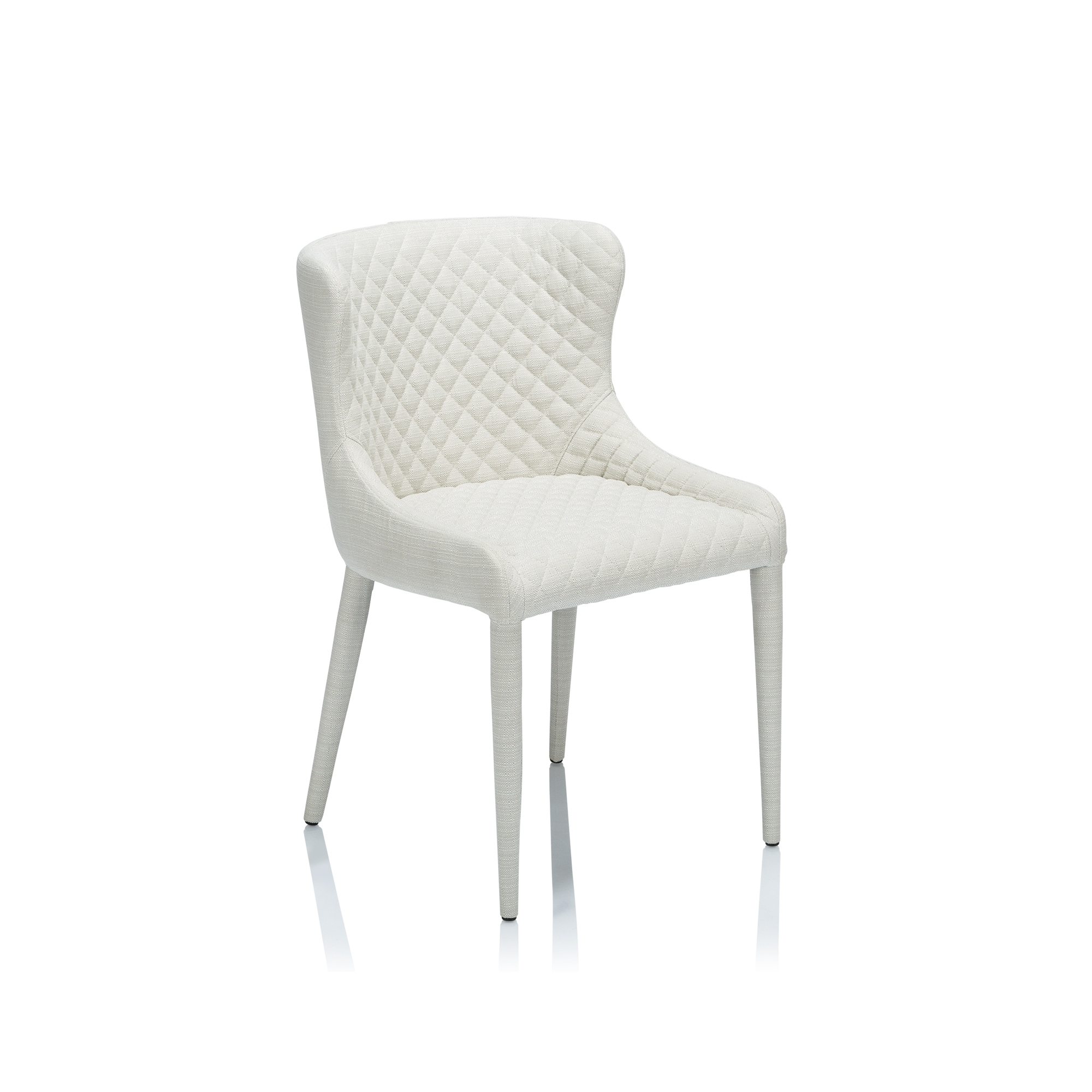 Quilted Black Dining Chairs In Most Current Saxon Quilted Dining Chair – Dining Chairs – Chairs – Furniture (View 16 of 20)