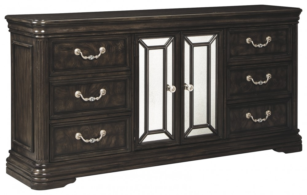 Quinshire Dresser | B728 31 | Dressers | Mirab Homestore And Regarding Most Recent Hartigan 2 Door Sideboards (View 4 of 20)