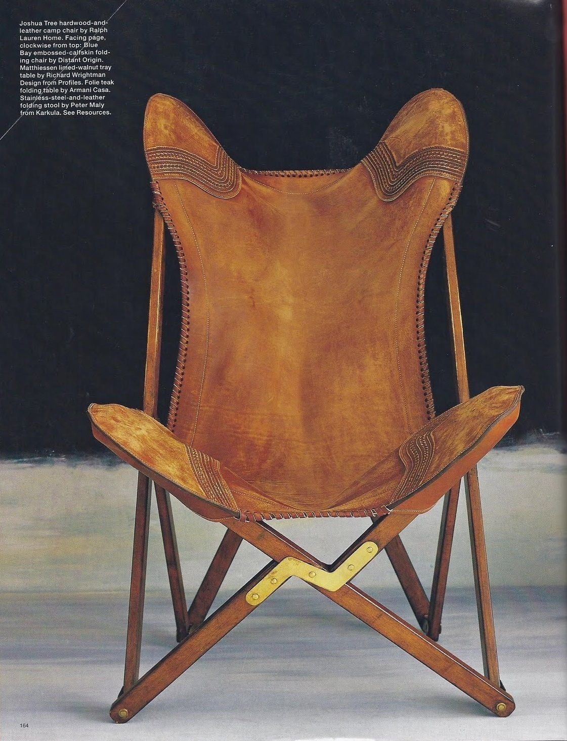 Inspiration about Ralph Lauren Joshua Tree Camp Chair Picture Speaks For Itself–just Throughout Latest Laurent Upholstered Side Chairs (#9 of 20)