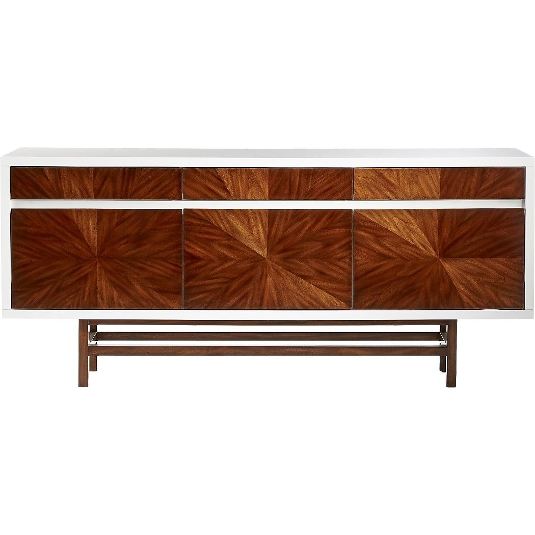 Inspiration about Ray Marquetry Credenza | Beach House | Pinterest | Credenza, Drawers Throughout Most Recent Starburst 3 Door Sideboards (#11 of 20)