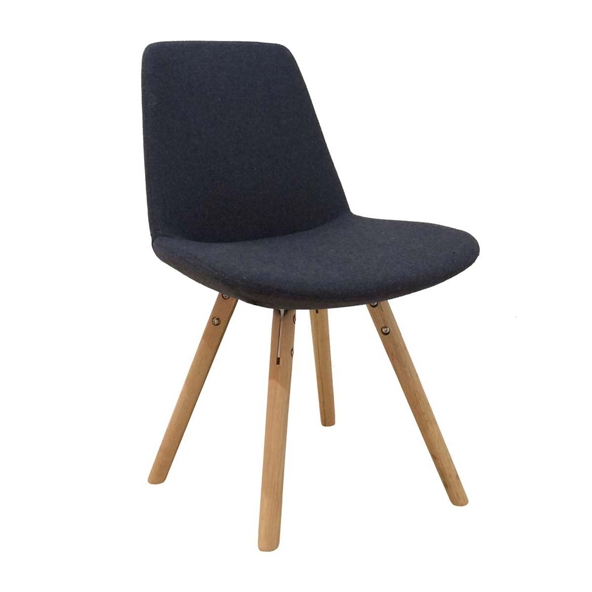 Inspiration about Recent Charcoal Dining Chairs Pertaining To Life Interiors – Parker Wooden Dining Chair (Oak, Charcoal) – Modern (#2 of 20)