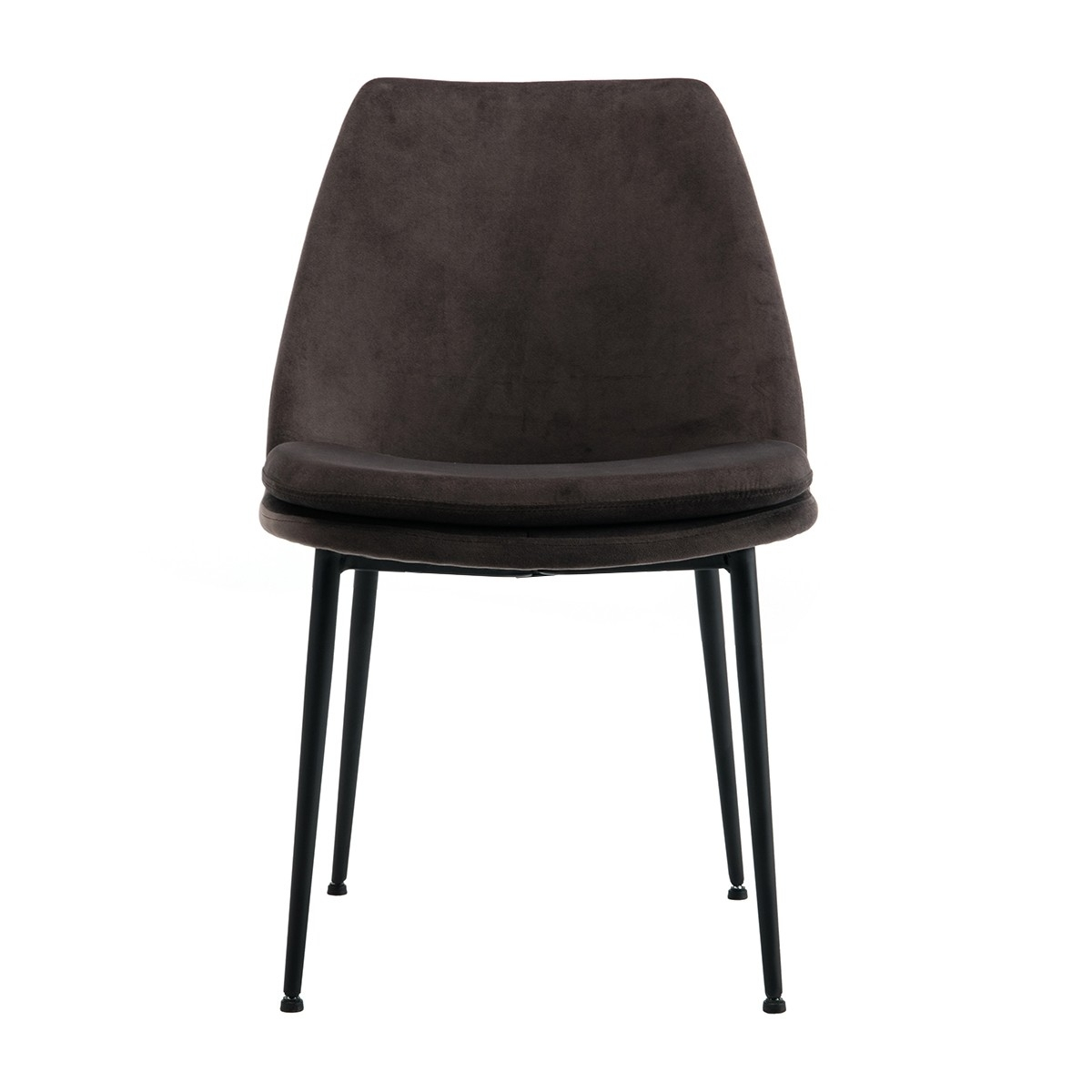 Inspiration about Recent Life Interiors – Ashton Velvet Dining Chair (Black) – Modern Regarding Dark Olive Velvet Iron Dining Chairs (#1 of 20)