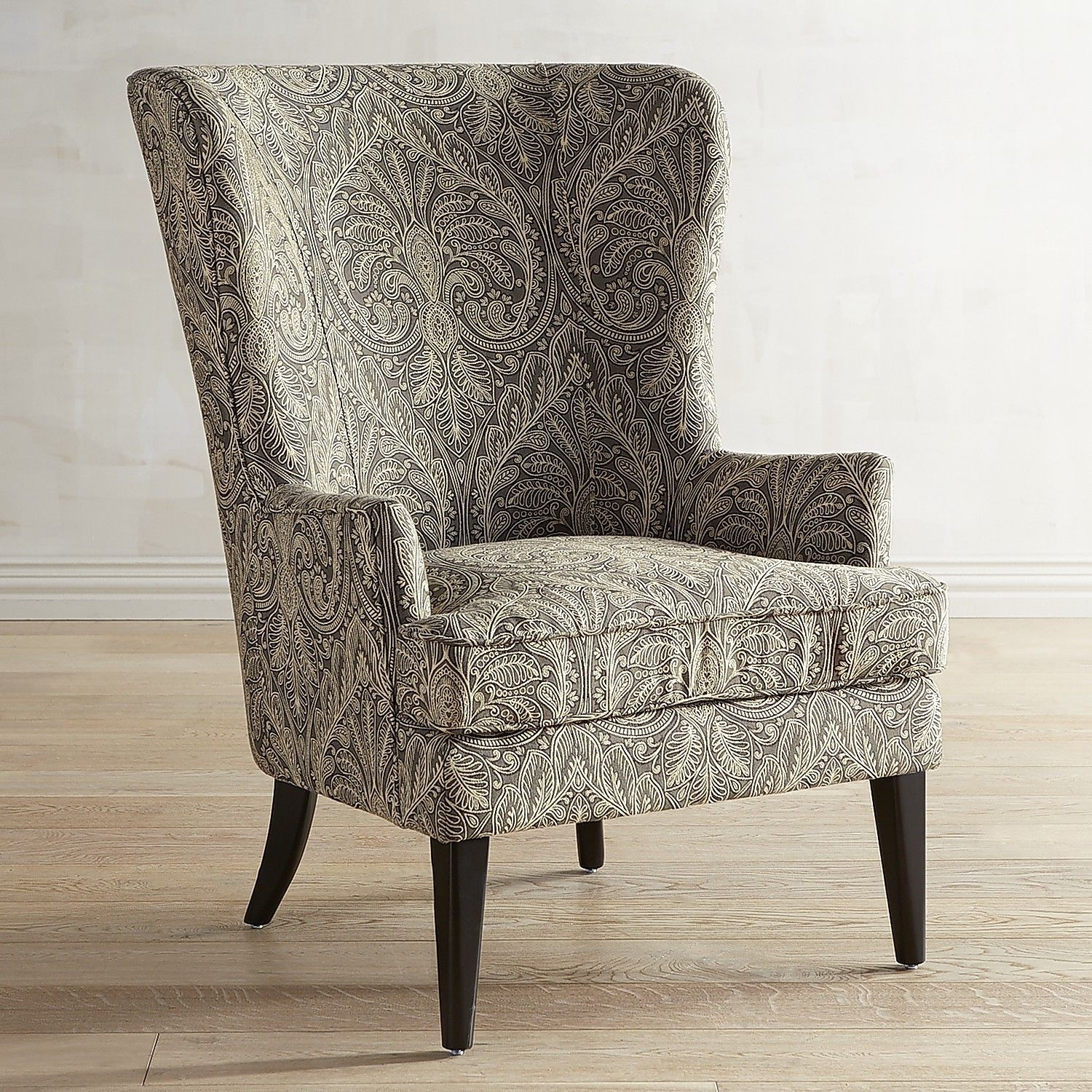 Inspiration about Recent Magnolia Home Fog Bloom Chair Within Magnolia Home Emery Ivory Burlap Side Chairs (#10 of 20)