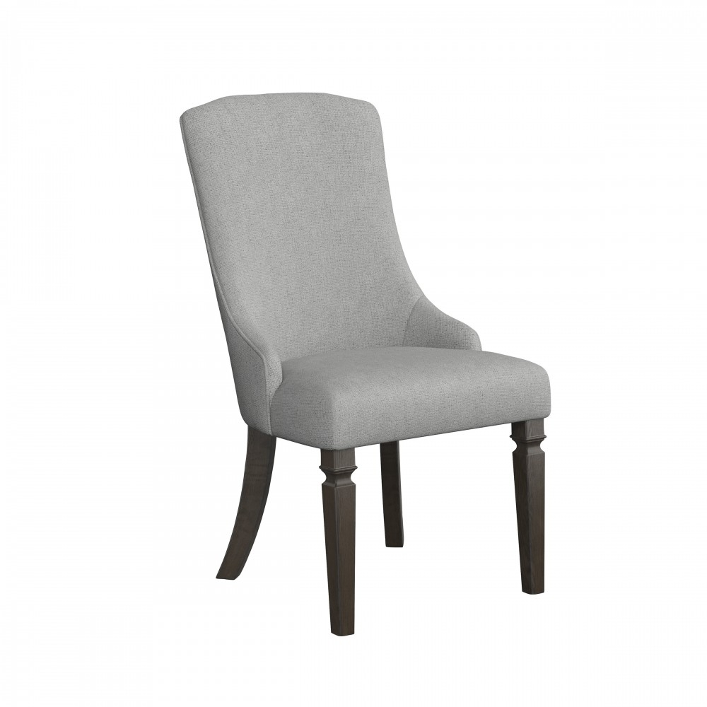 Inspiration about Recent Mikalene – Brown Metallic – Dining Uph Arm Chair (2/cn) (#15 of 20)