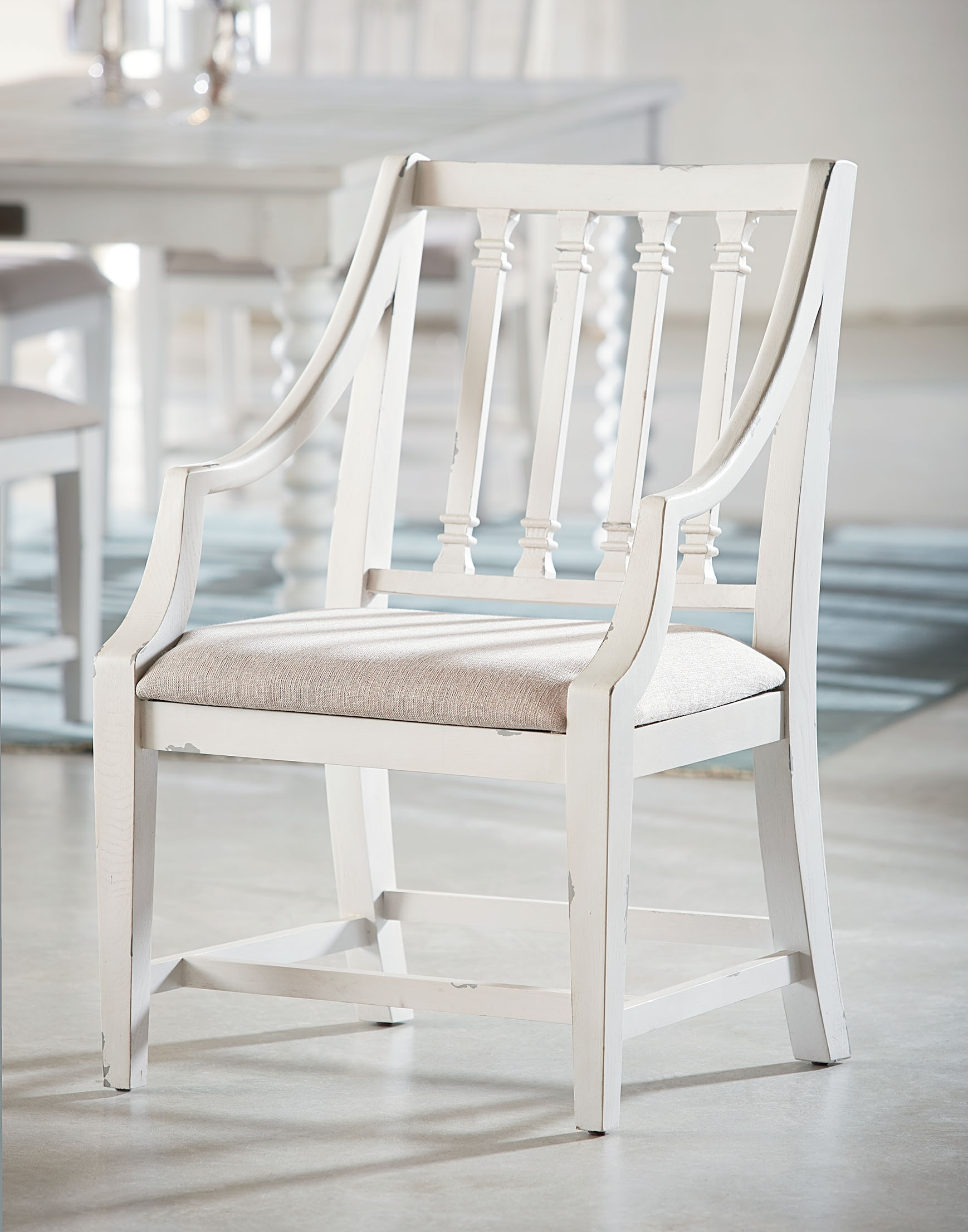 Inspiration about Recent Revival Arm Chair – Magnolia Home With Magnolia Home Revival Jo's White Arm Chairs (#7 of 20)