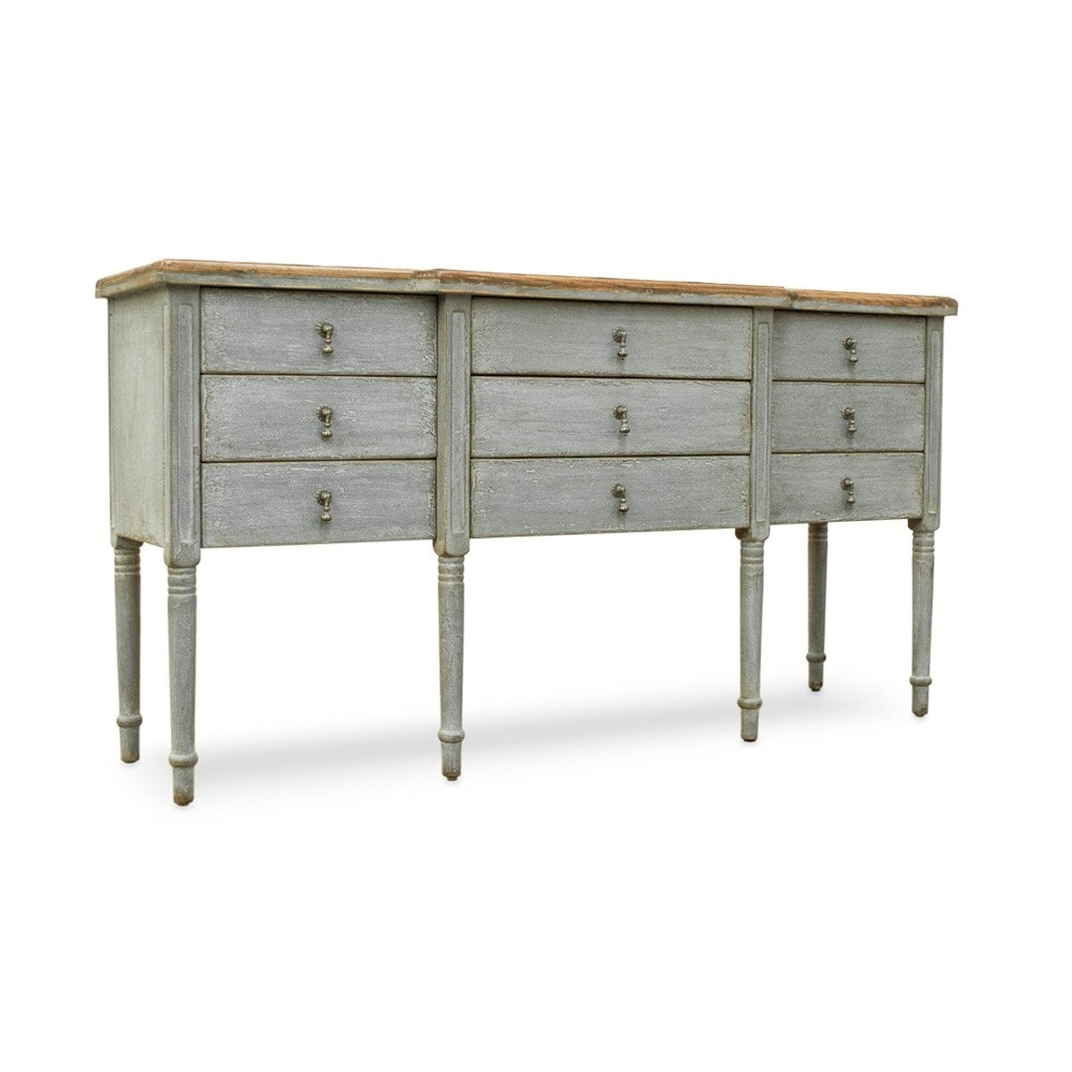 Inspiration about Reclaimed Wood Furniture Sideboard, Upcycled From An Antique Door Pertaining To Most Popular Light Brown Reclaimed Elm & Pine 84 Inch Sideboards (#7 of 20)