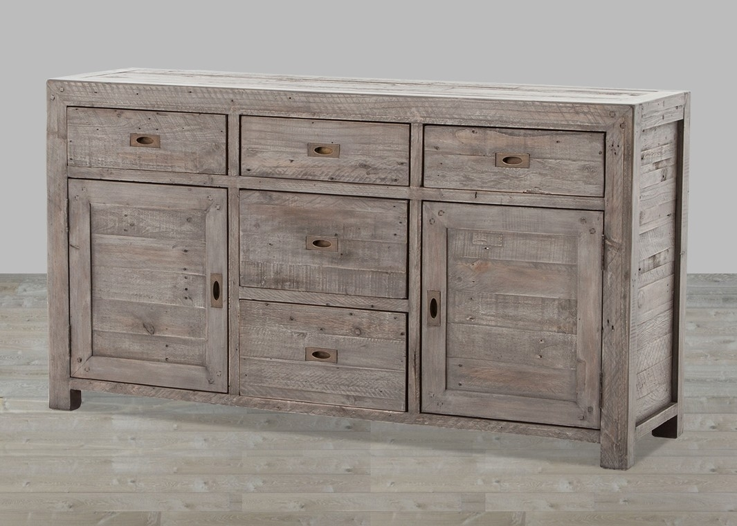 Inspiration about Reclaimed Wood Sideboard From Wine Cabinet — Rocket Uncle Rocket Uncle For Best And Newest Reclaimed 3 Drawer Icebox Sideboards (#10 of 20)