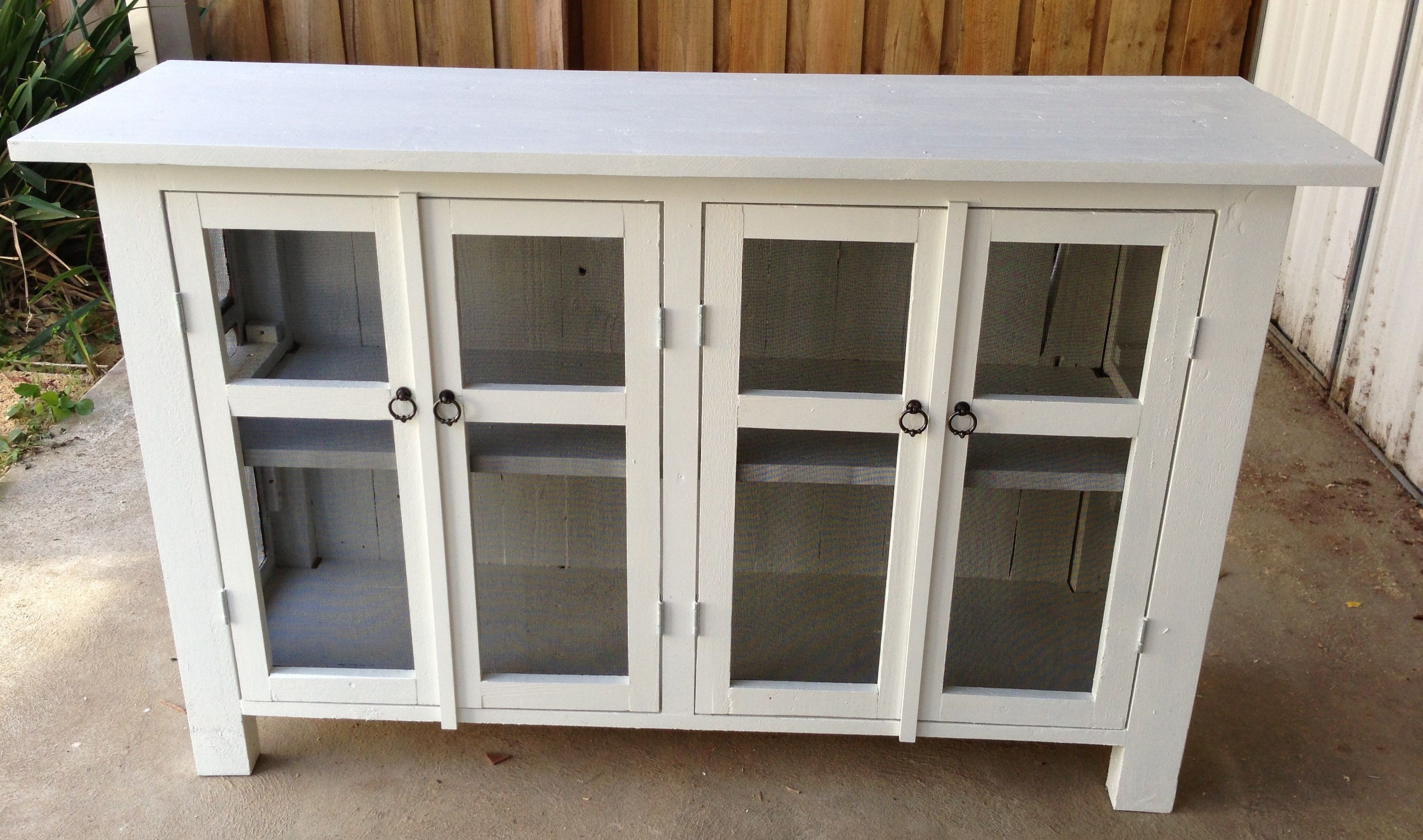 Recycled Pallets – Sideboard Buffet | Sideboards/buffet | Pinterest With Regard To 2017 Cass 2 Door Sideboards (View 8 of 20)