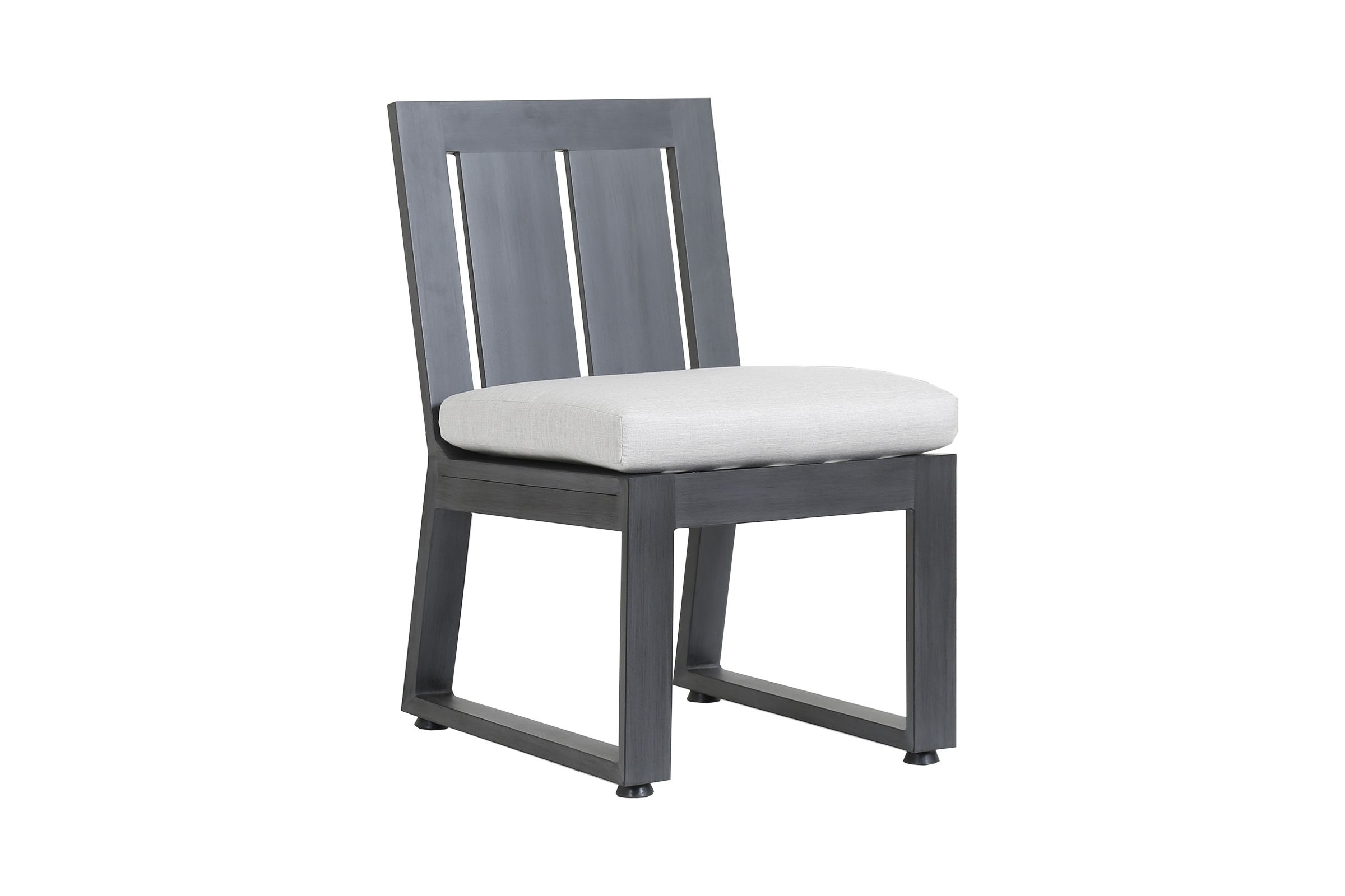 Redondo Armless Dining Chair 3801 1A Throughout Well Liked Armless Oatmeal Dining Chairs (#16 of 20)