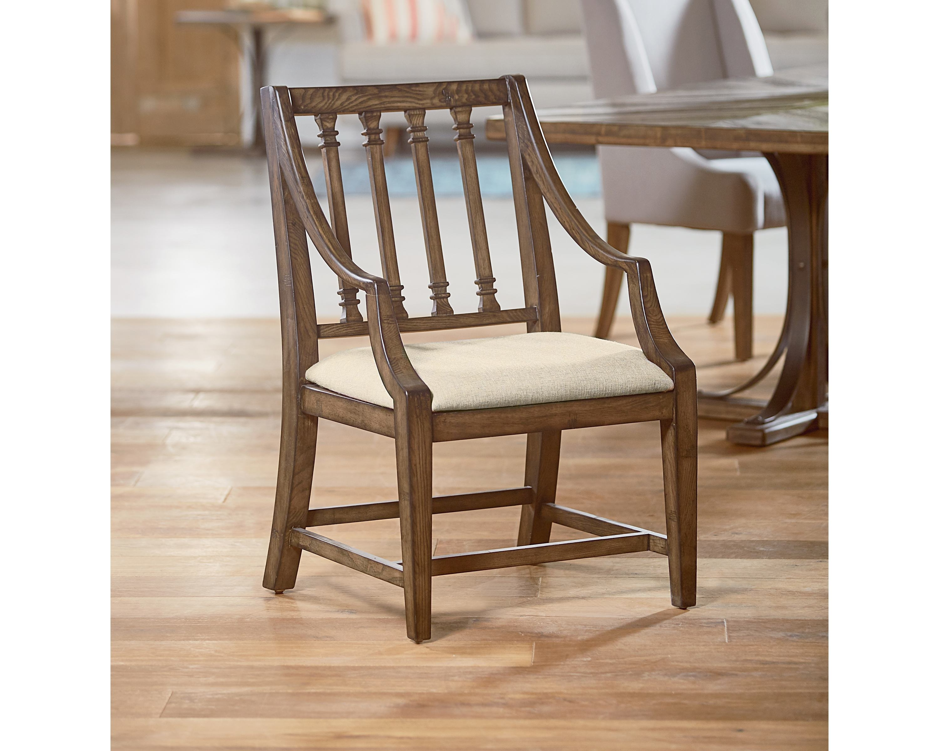 Inspiration about Revival Arm Chair – Magnolia Home In Trendy Magnolia Home Revival Jo's White Arm Chairs (#4 of 20)