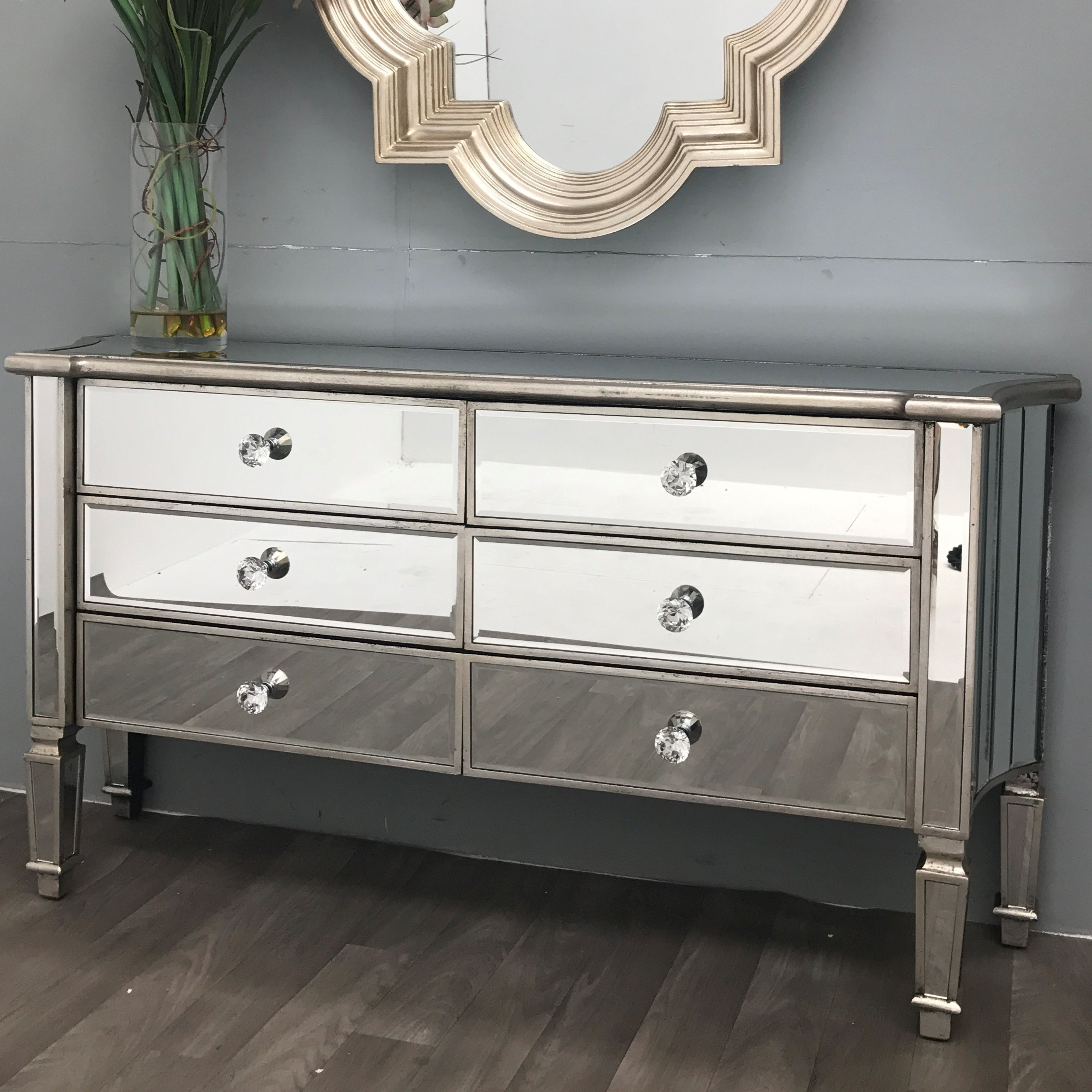Inspiration about Rosdorf Park Vintage Mirrored Sideboard & Reviews | Wayfair.co.uk For Most Popular Vintage 8 Glass Sideboards (#14 of 20)