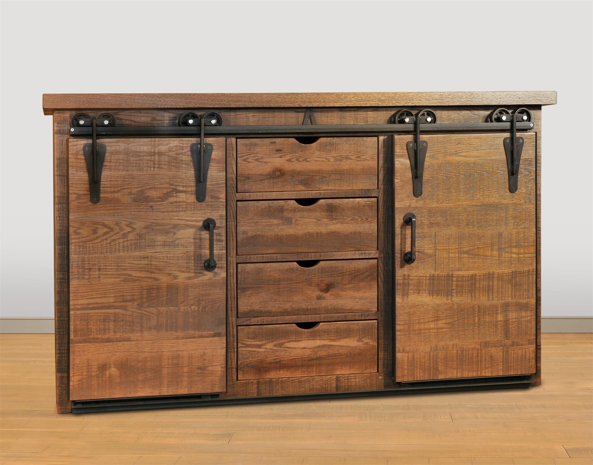 Inspiration about Ruff Sawn Dalton Sideboard From Dutchcrafters Amish Furniture Intended For Most Current Lockwood Sideboards (#11 of 20)