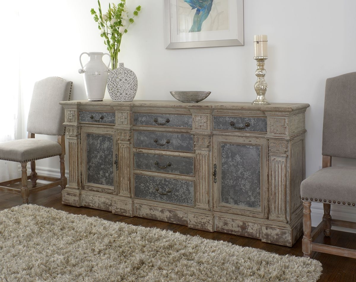 Inspiration about Rustic, Reclaimed And Relaxed Newmar Sideboard At Star Furniture In Intended For Newest Reclaimed Sideboards With Metal Panel (#2 of 20)