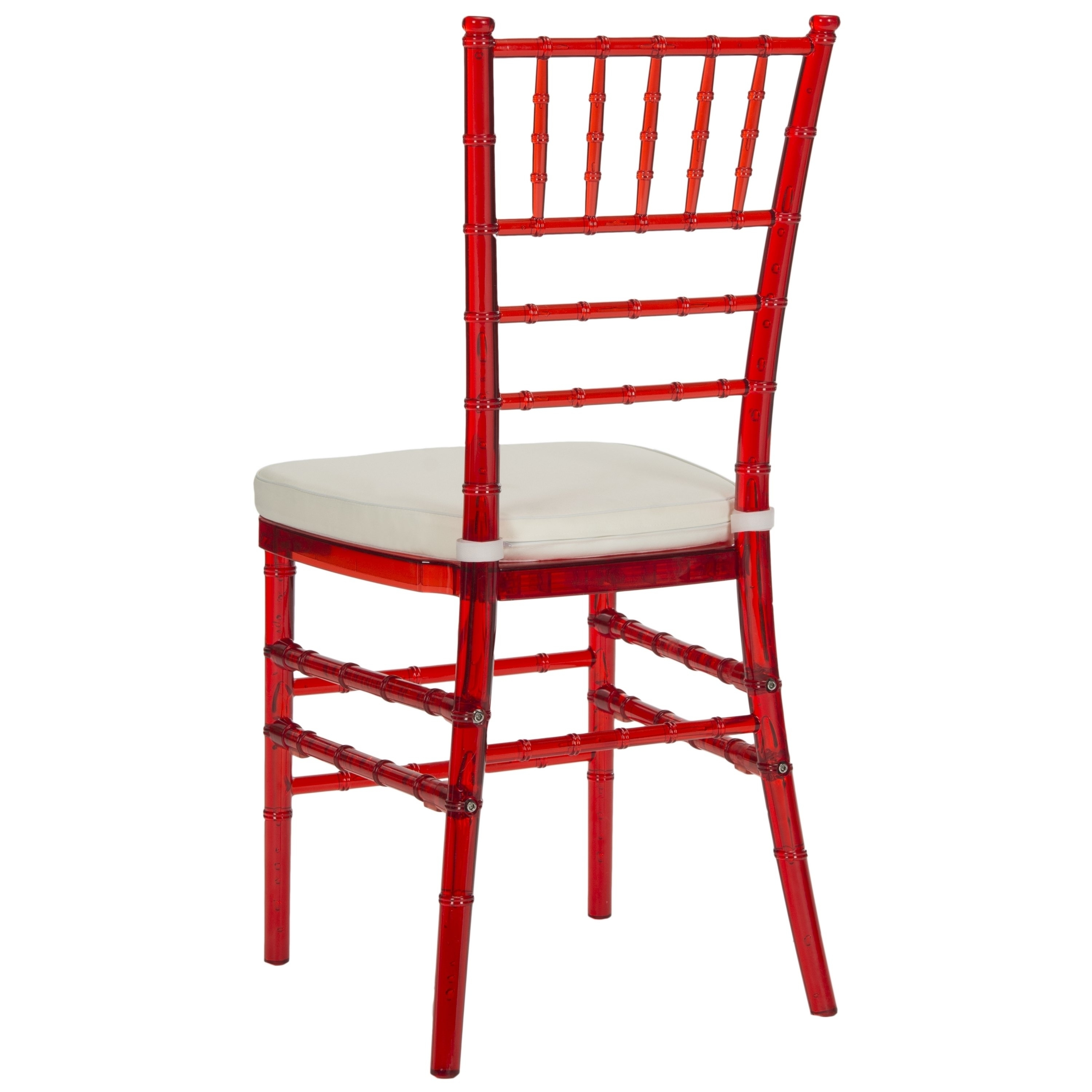 Safavieh Country Classic Dining Carly Red Dining Chairs (Set Of 2 With Newest Carly Side Chairs (View 16 of 20)
