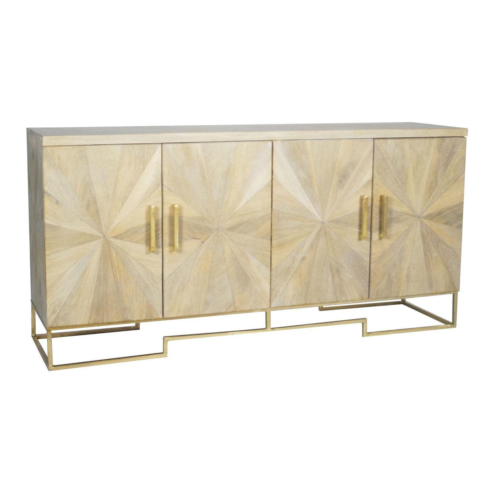Selamat Designs Justinian Starburst Credenza | Project: Financial For 2018 Starburst 3 Door Sideboards (#12 of 20)