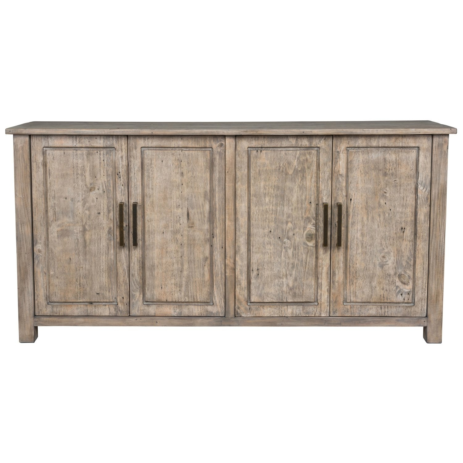 Shop Aires Reclaimed Wood 72 Inch Sideboardkosas Home – Free Pertaining To 2017 Reclaimed Pine Turquoise 4 Door Sideboards (View 20 of 20)