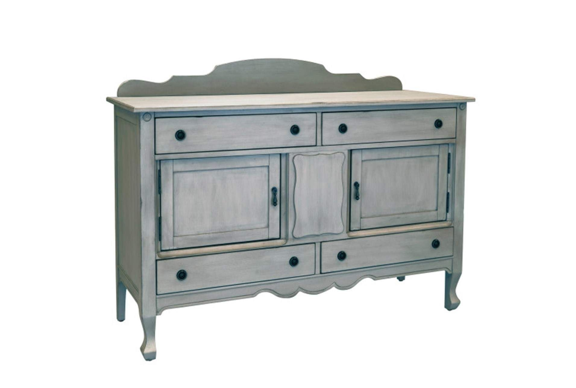 Shop For Magnolia Home Silhouette Dove Grey Sideboardjoanna In Latest Jaxon Grey Sideboards (#20 of 20)