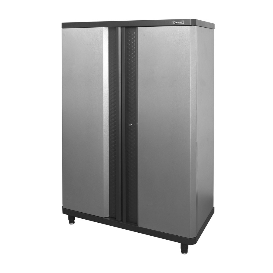 Shop Garage Cabinets & Storage Systems At Lowes Inside Most Current Charcoal Finish 4 Door Jumbo Sideboards (View 13 of 20)